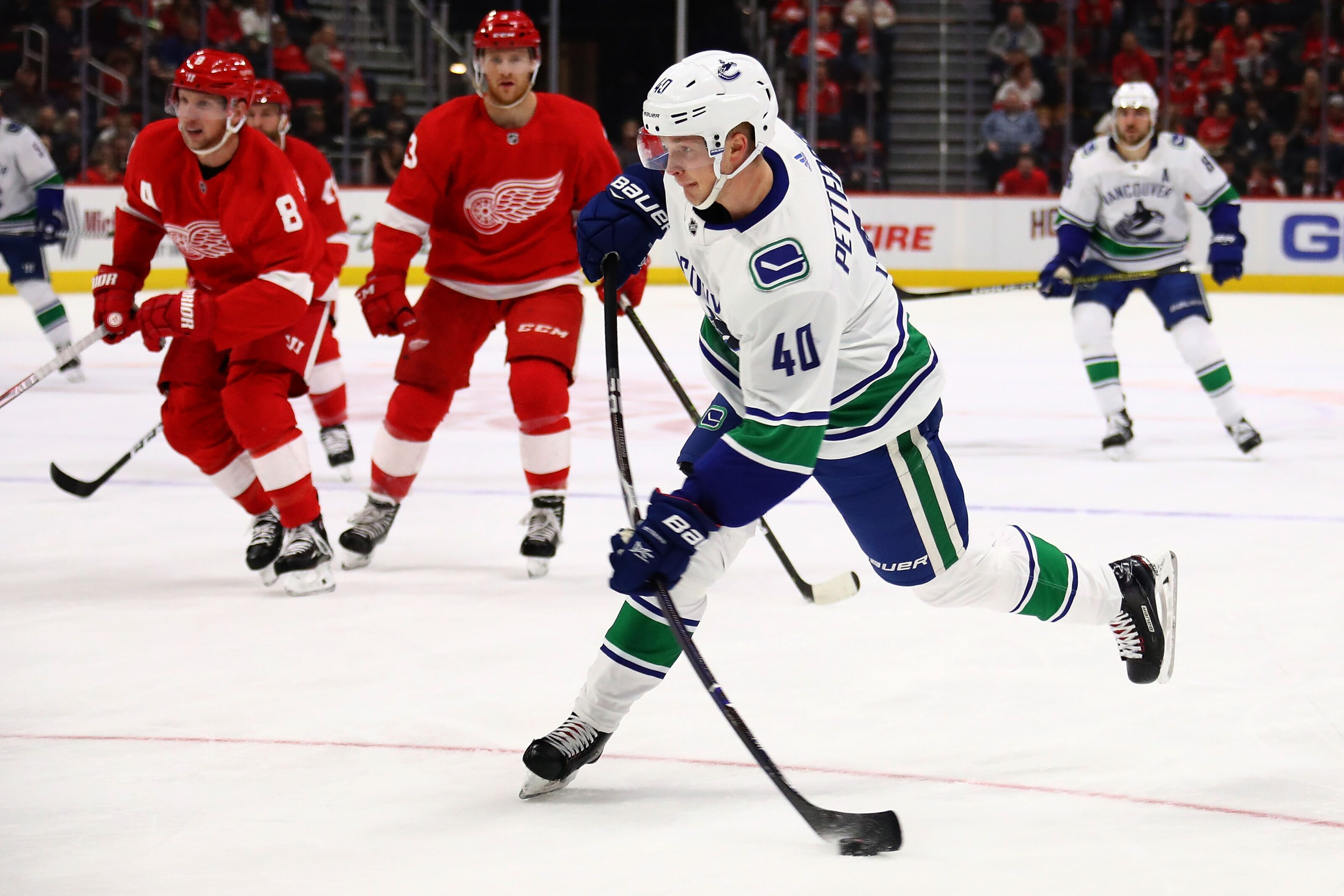Four Detroit Red Wings who could Help the Vancouver Canucks