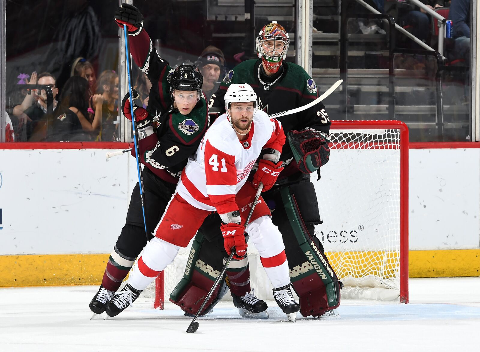 Detroit Red Wings handed seventh straight loss thanks to Arizona