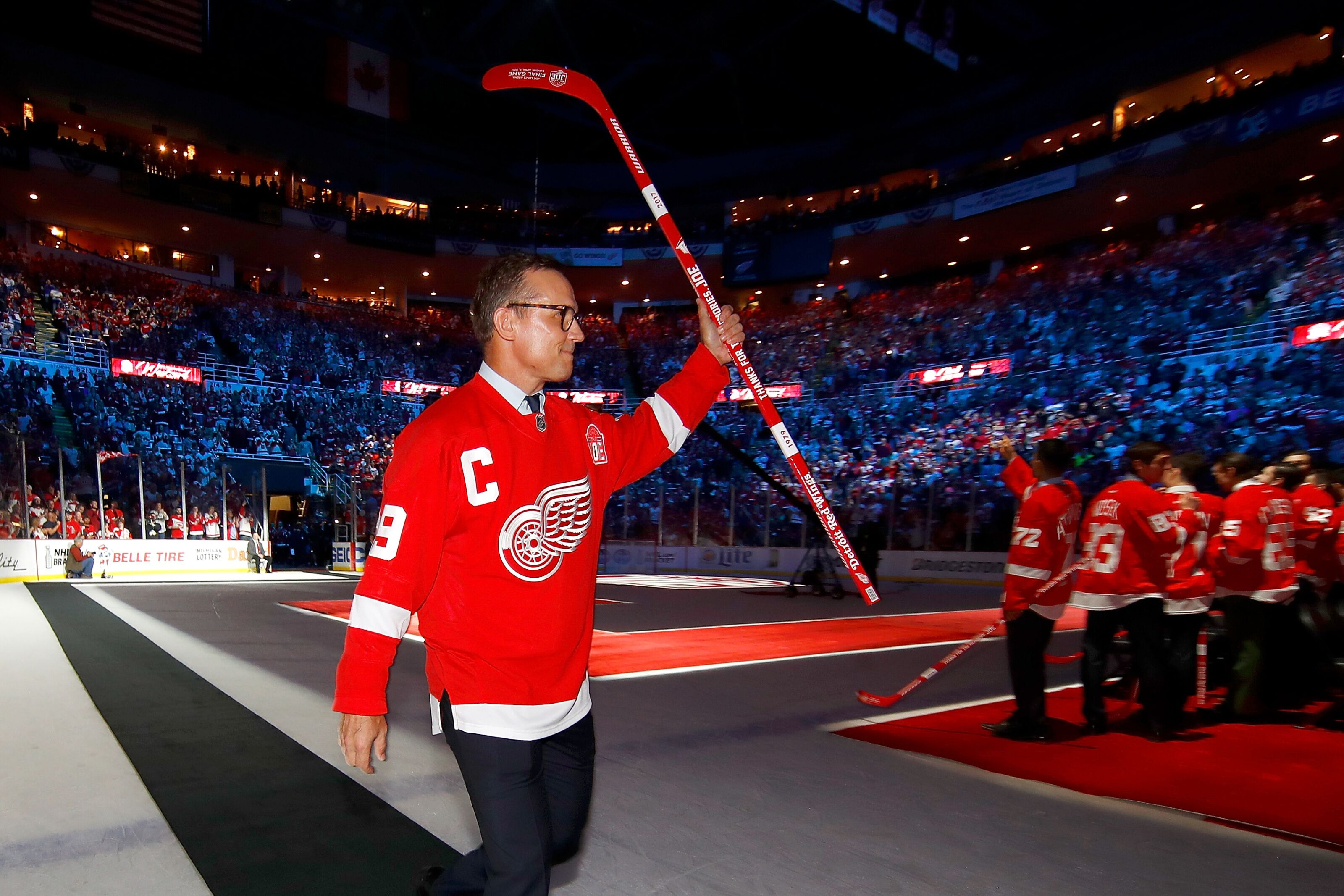 Detroit Red Wings: He's coming home Steve Yzerman is coming home!
