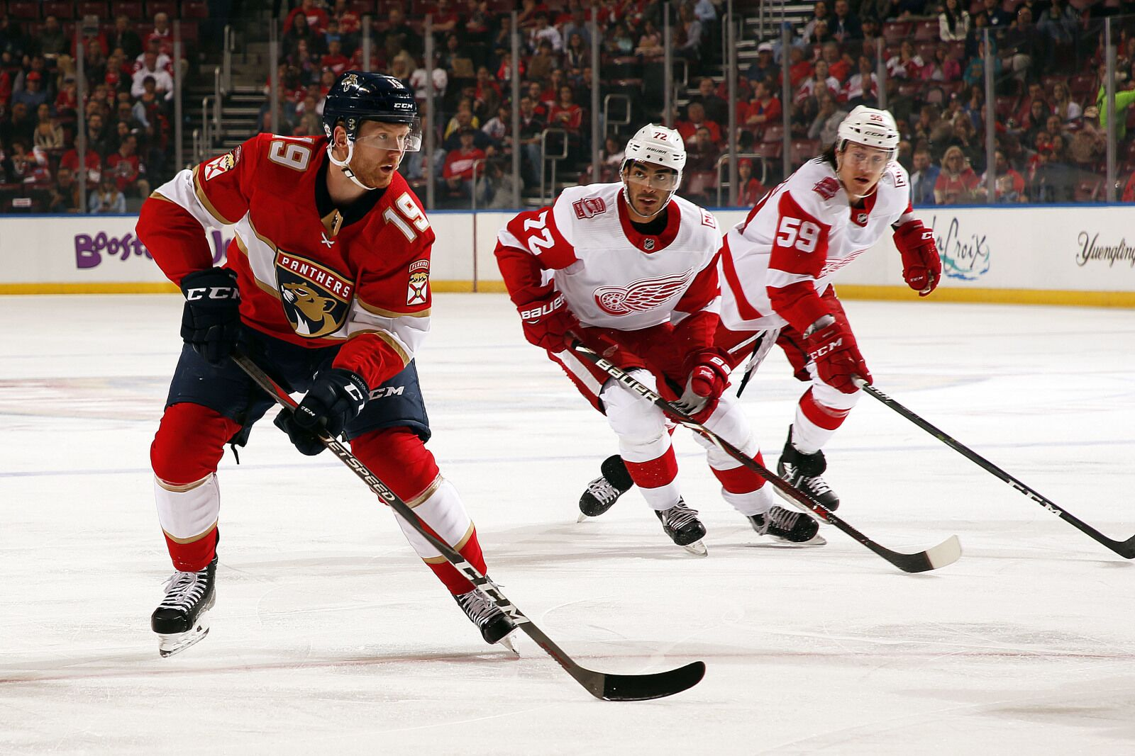The Detroit Red Wings Conclude Road Trip in Florida Tonight