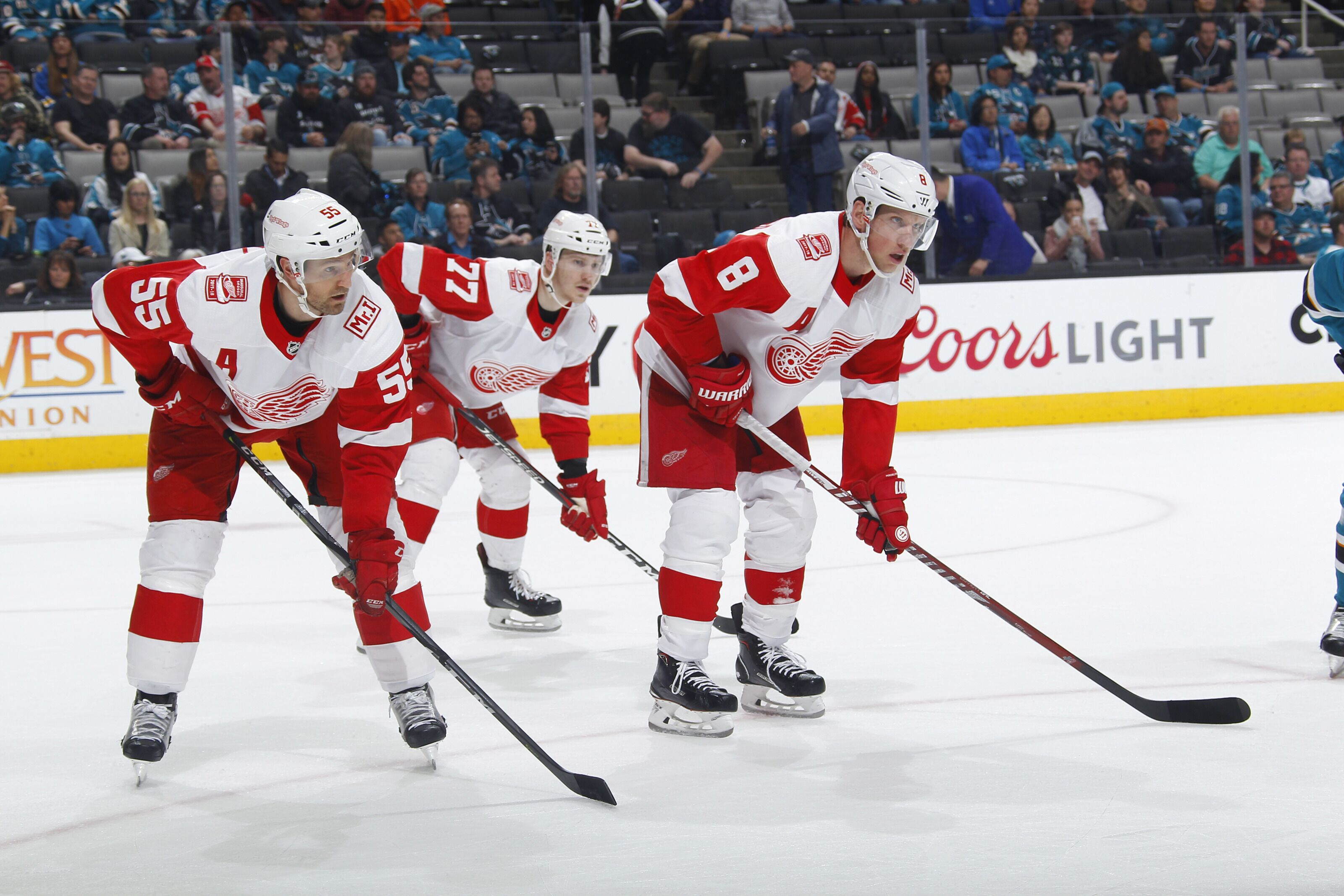 quality design 438ae bb5d4 Detroit Red Wings Name Associate Captains for 2018/19