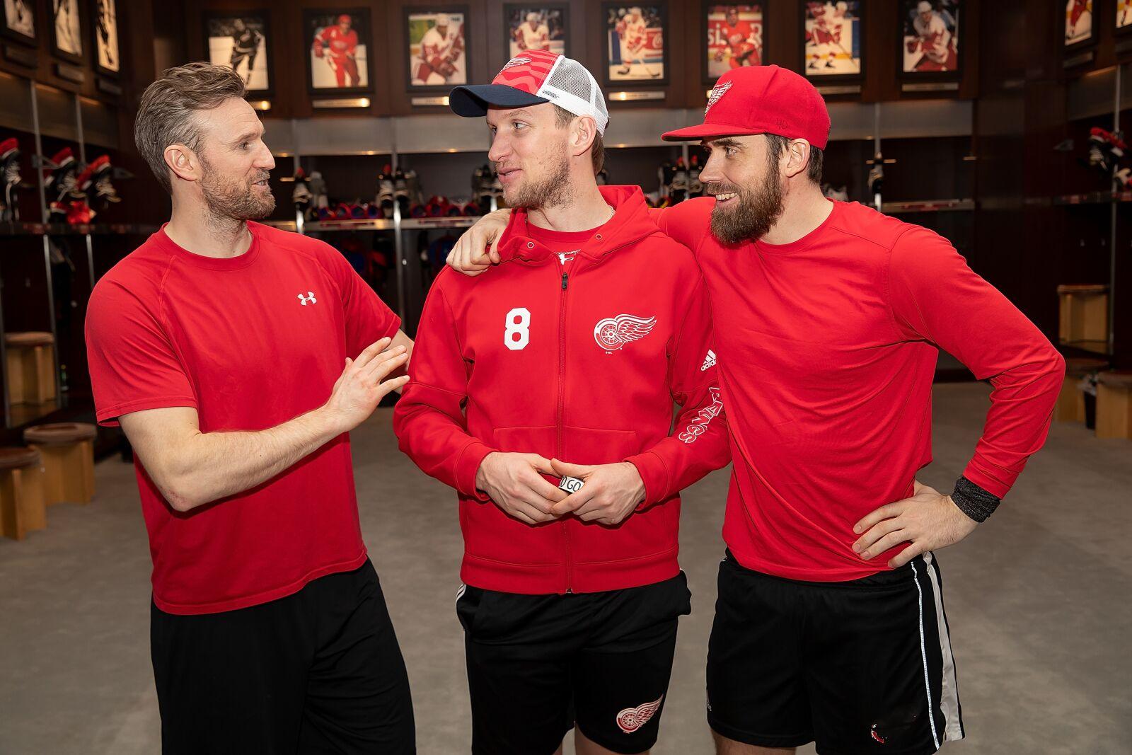 e56e9984f Detroit Red Wings  Niklas Kronwall s role on a young team