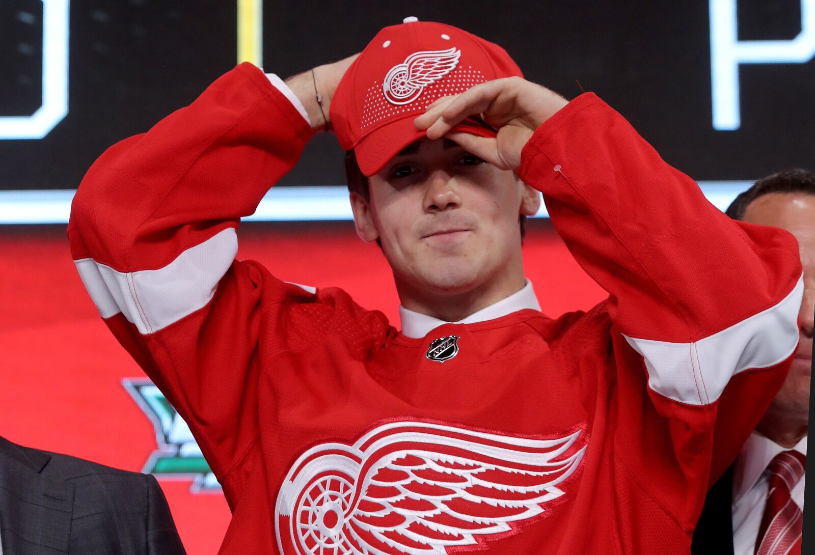 Detroit Red Wings Rookie Named in Top Ten Calder Trophy Candidates