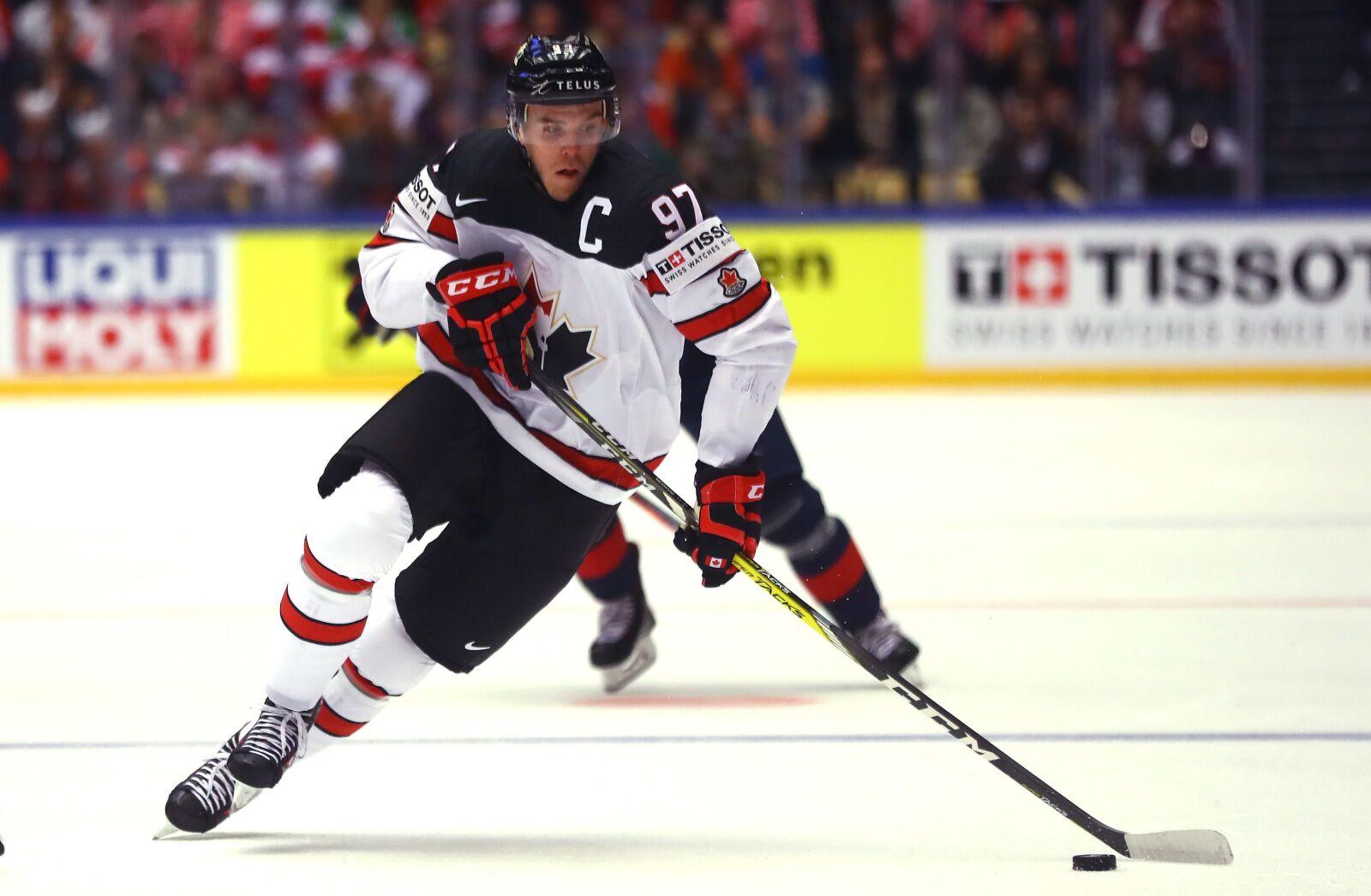 ab82dc35a24 Connor McDavid Leads Team Canada To Win Over Korea