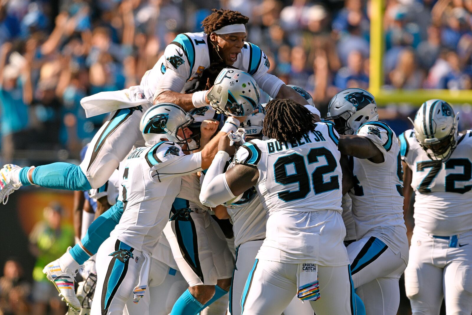 278baecc Carolina Panthers: Performance Grades from Week 5 against NY Giants