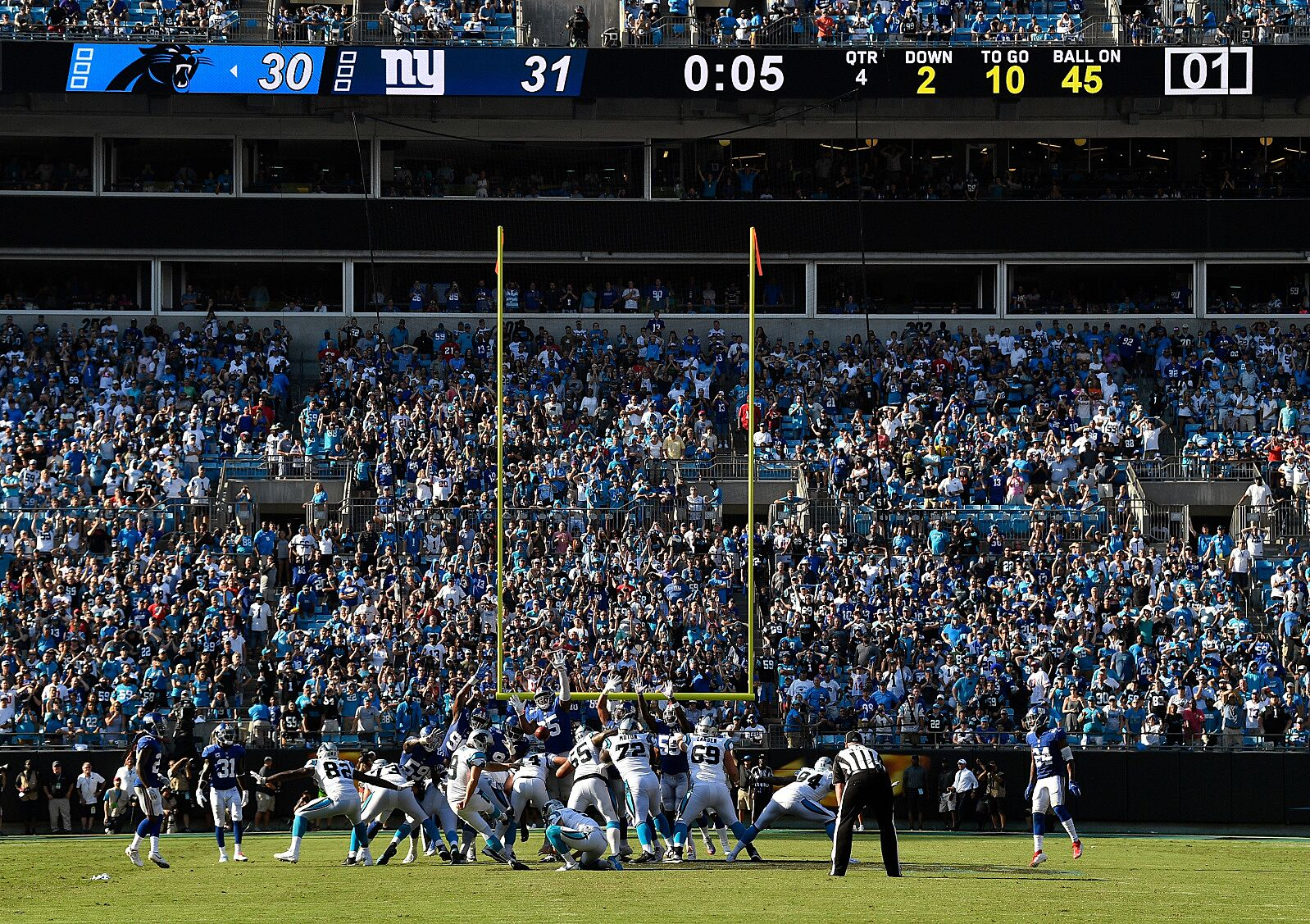14c83a78f Carolina Panthers  Key takeaways from 33-31 win over NY Giants
