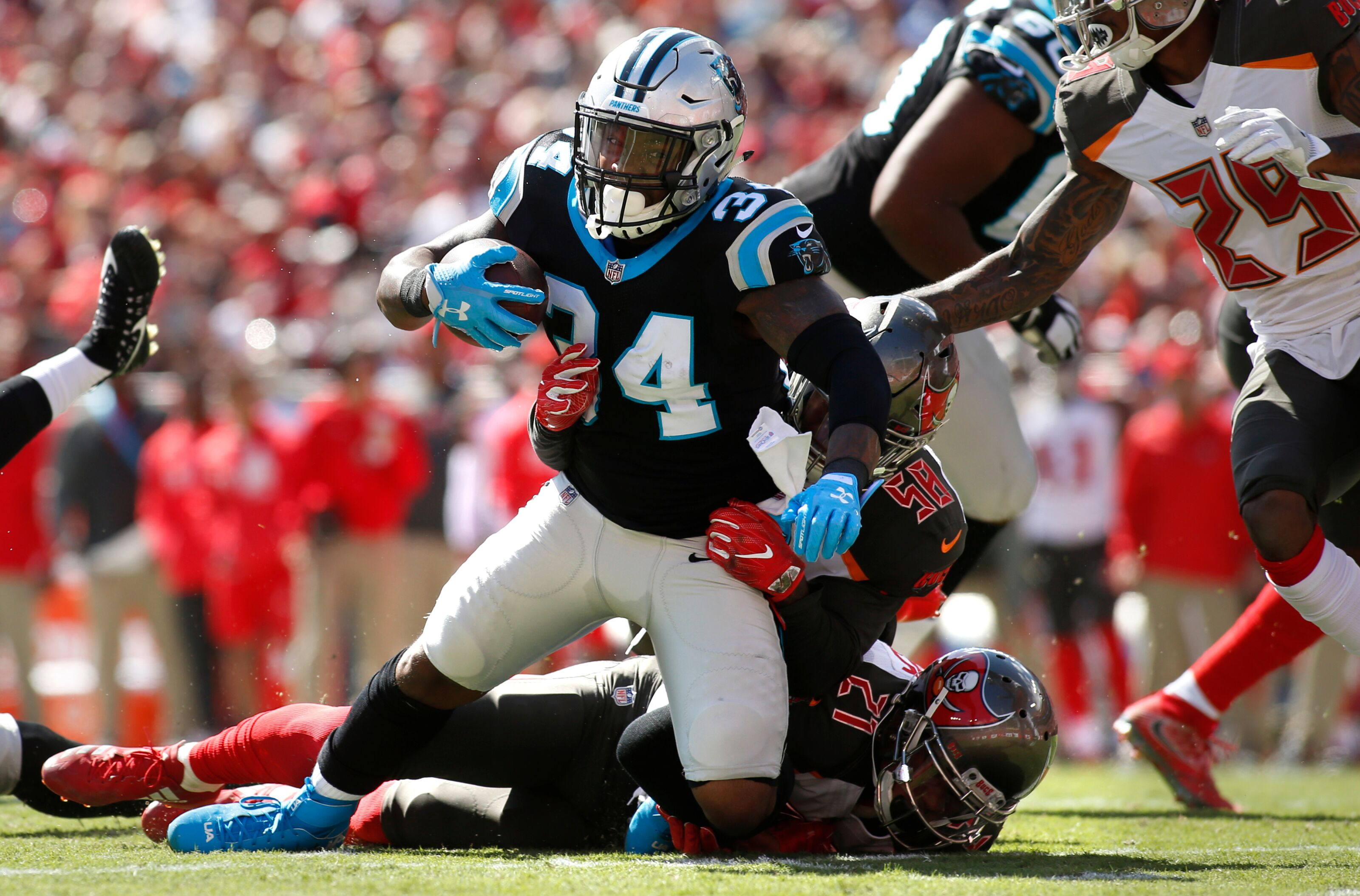 Carolina Panthers: Players on roster bubble entering ...