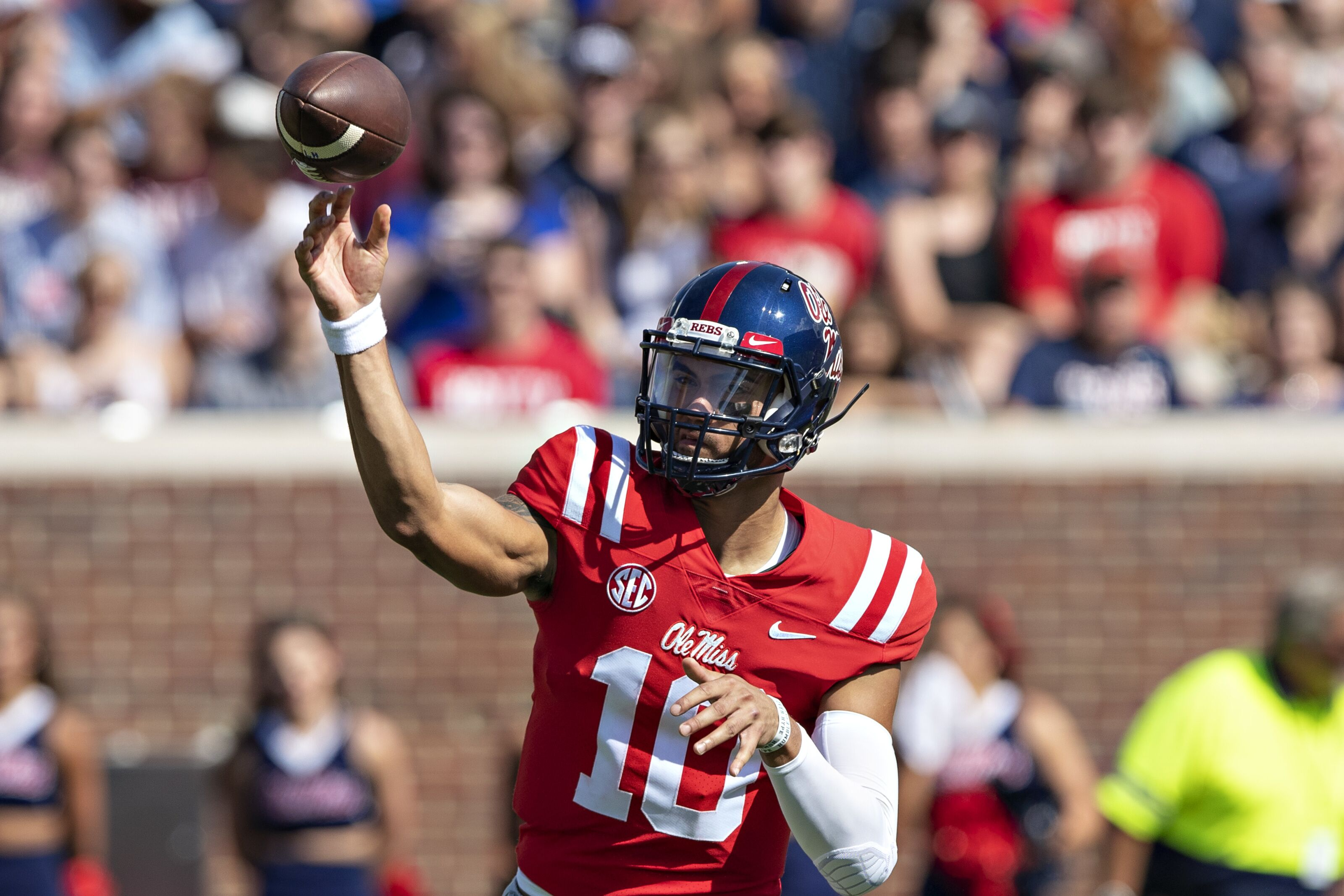 Ole Miss Football Rebels Have Huge Homecoming Against Warhawks