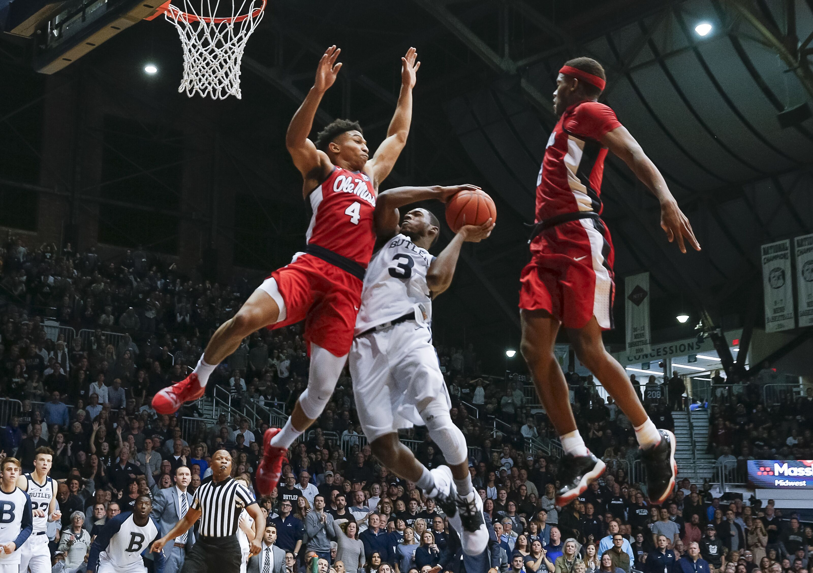 Ole Miss Basketball: Rebels Hoops Fall To Butler In Indy