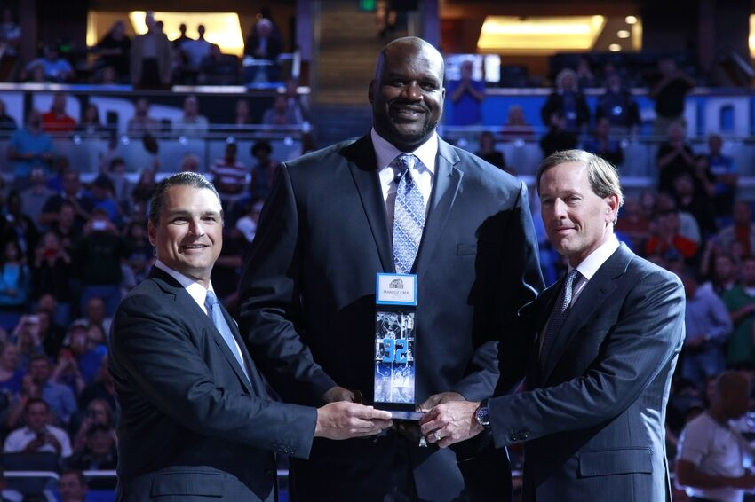 0aedac47e92 Time for the Orlando Magic to retire Shaquille O'Neal's jersey