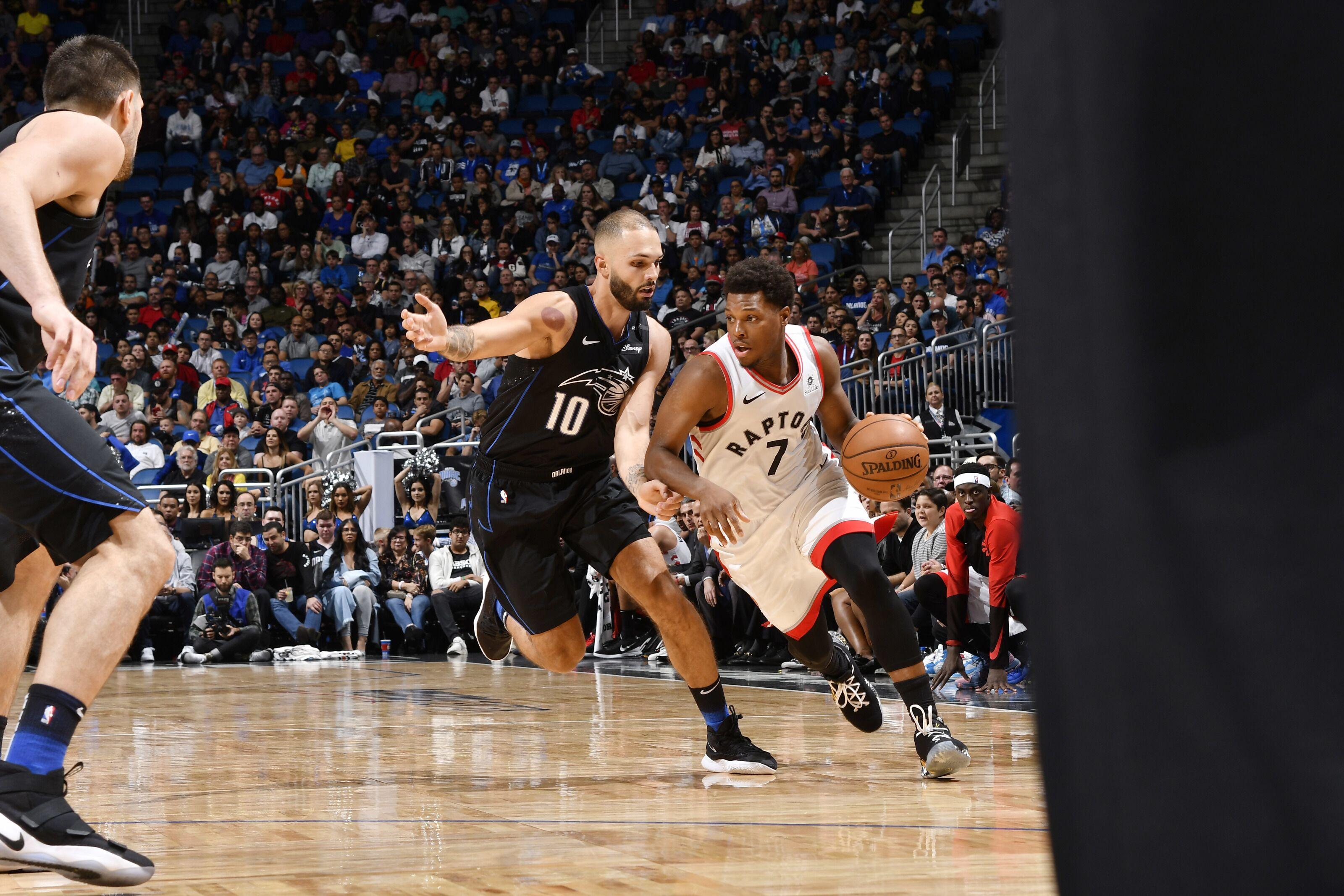 6426bd805d6 Magic Wands  Orlando Magic battle Toronto Raptors in Game 2