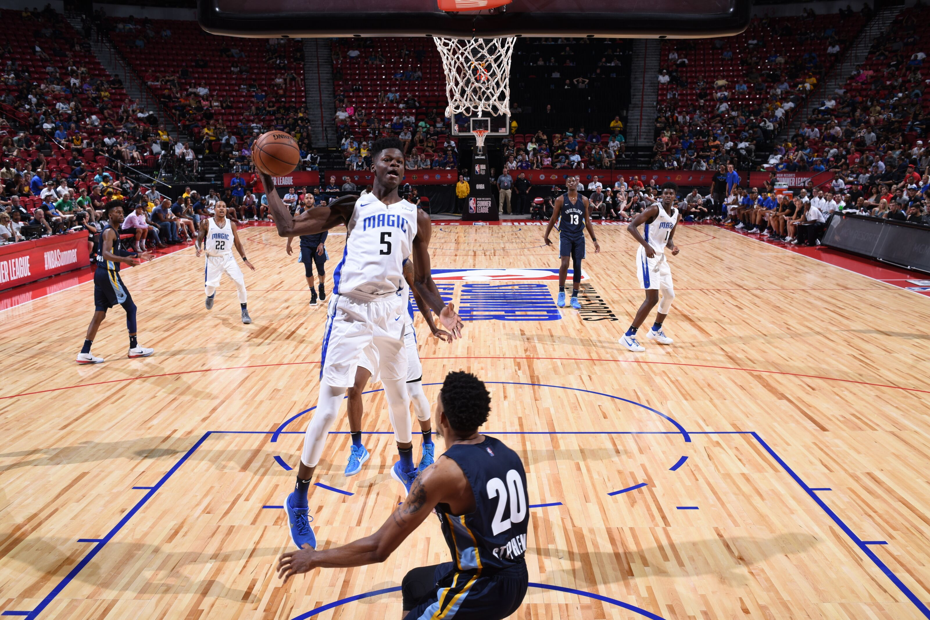 079841e40f6 Orlando Magic laying down their defense to defeat Memphis Grizzlies