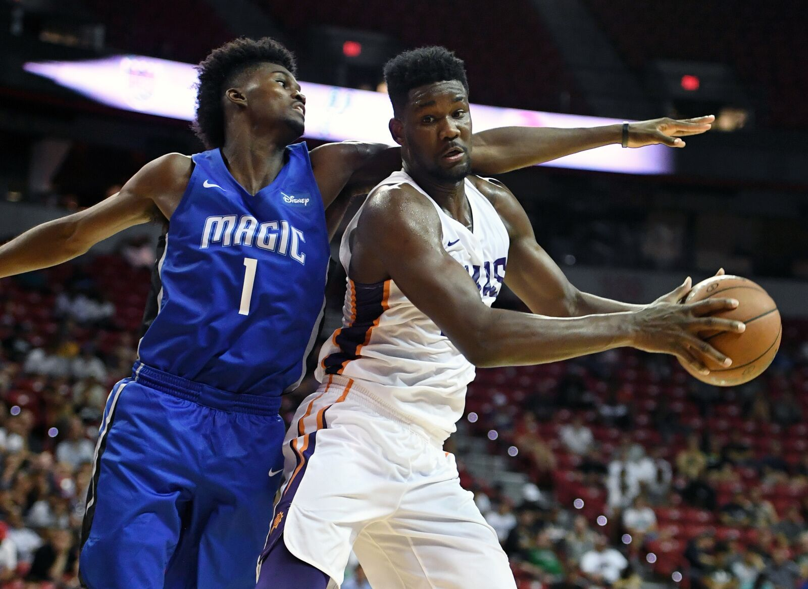 Jonathan Isaac has not needed scoring for a successful Summer League