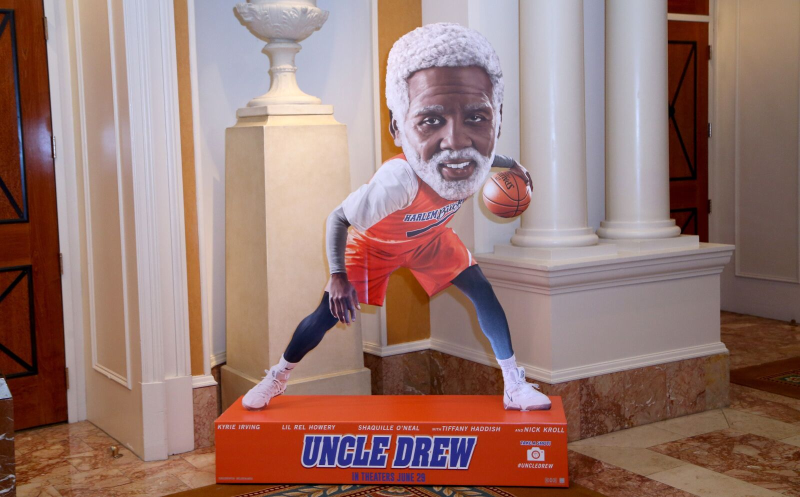 bb97001e49b9 Aaron Gordon is already a superstar... in Uncle Drew