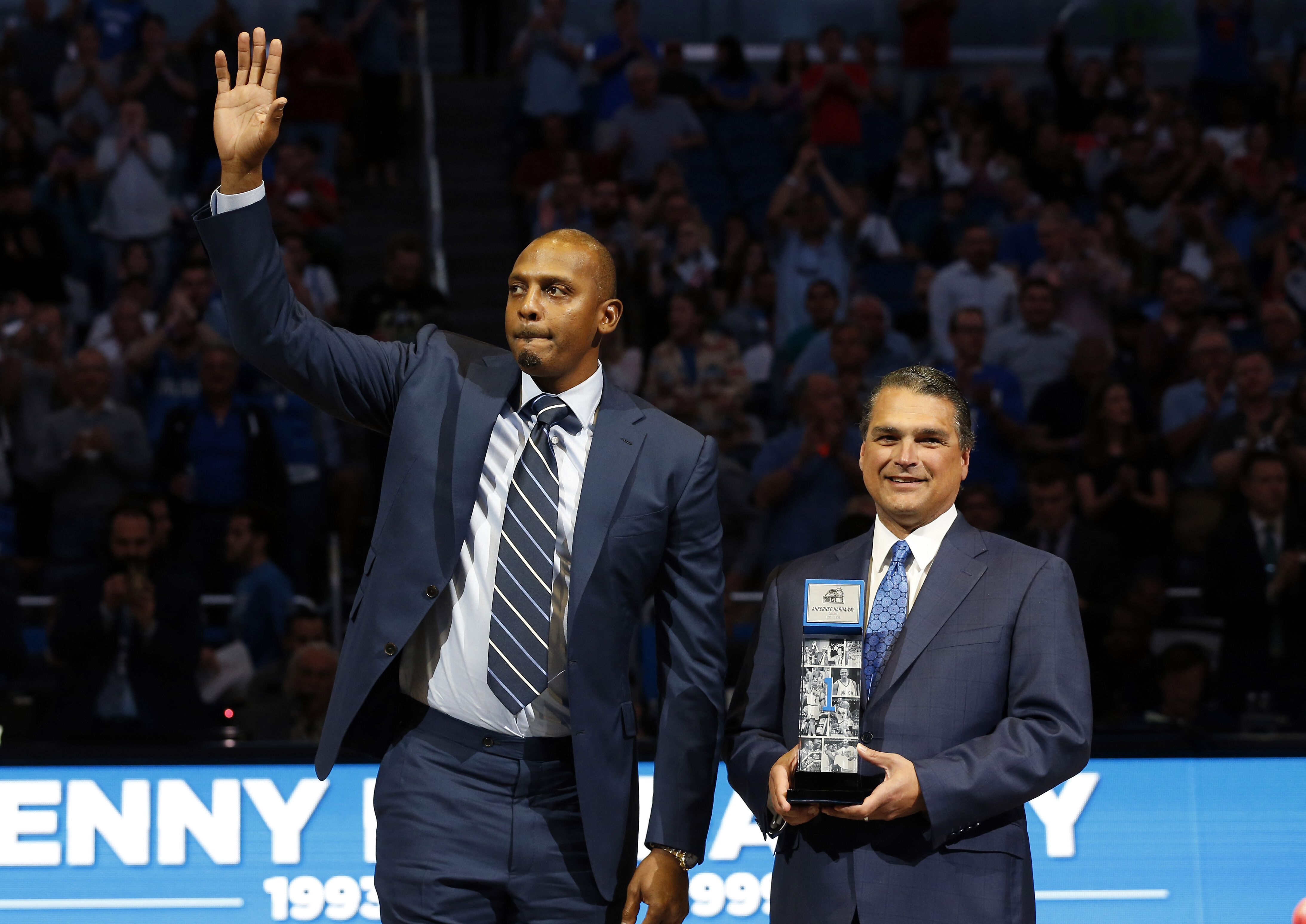 For Anfernee Hardaway Orlando will always be home