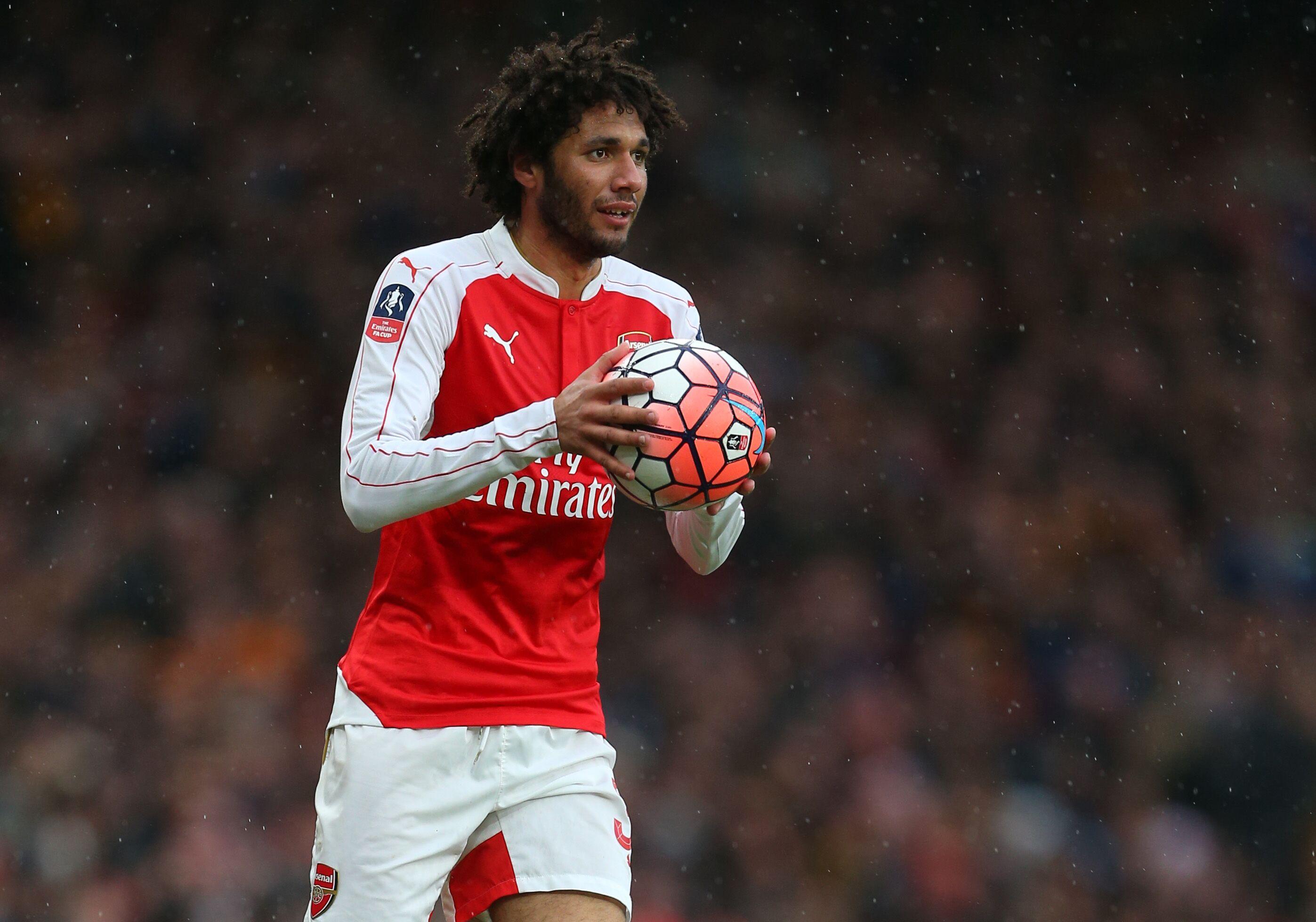 Arsenal: Mohamed Elneny Likable To Amorphous Blob