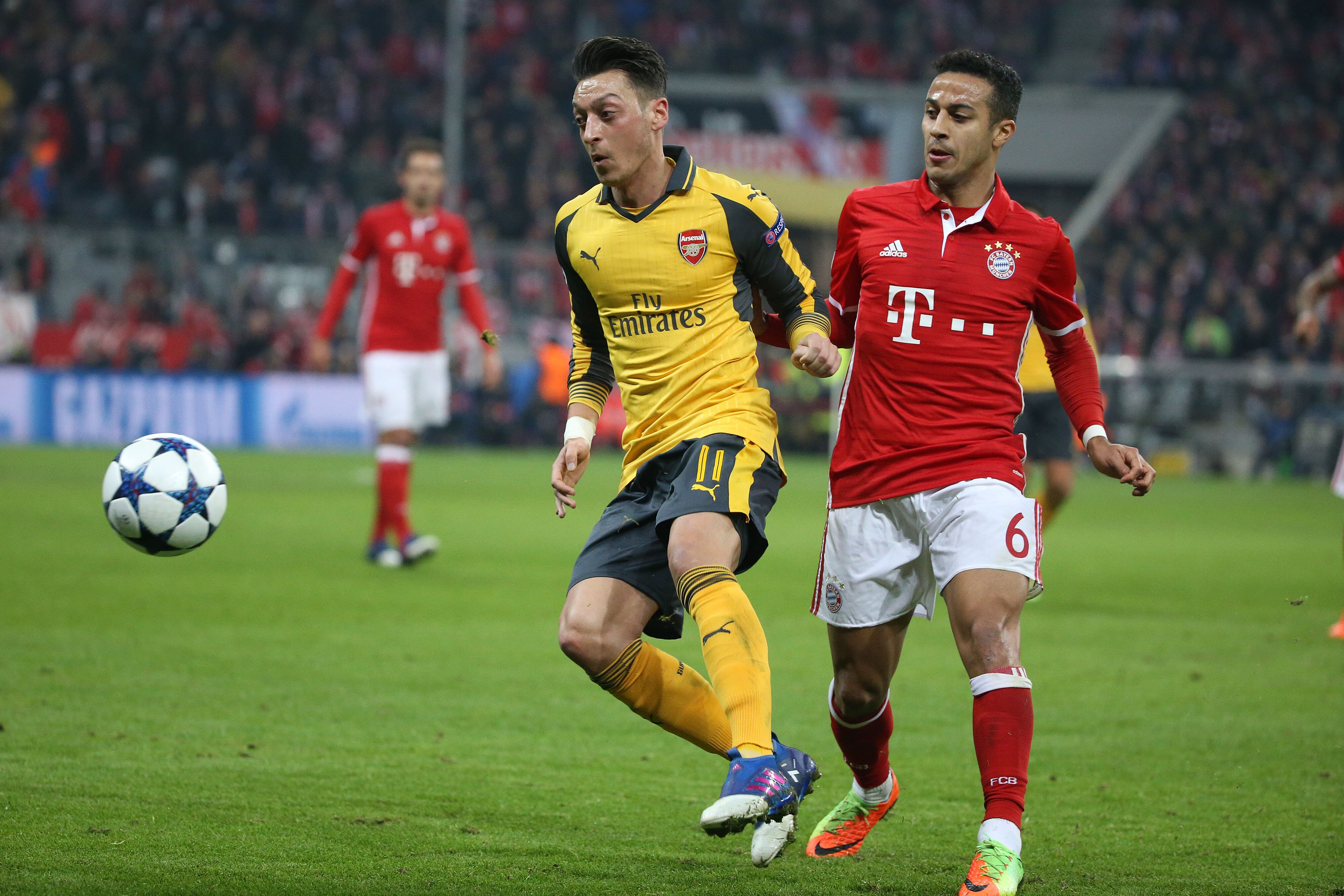 arsenal vs bayern - HD 4000×2667