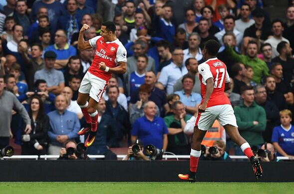 b880c03a915519 Arsenal  3 reasons why Alexis Sanchez is the perfect mentor for Alex Iwobi