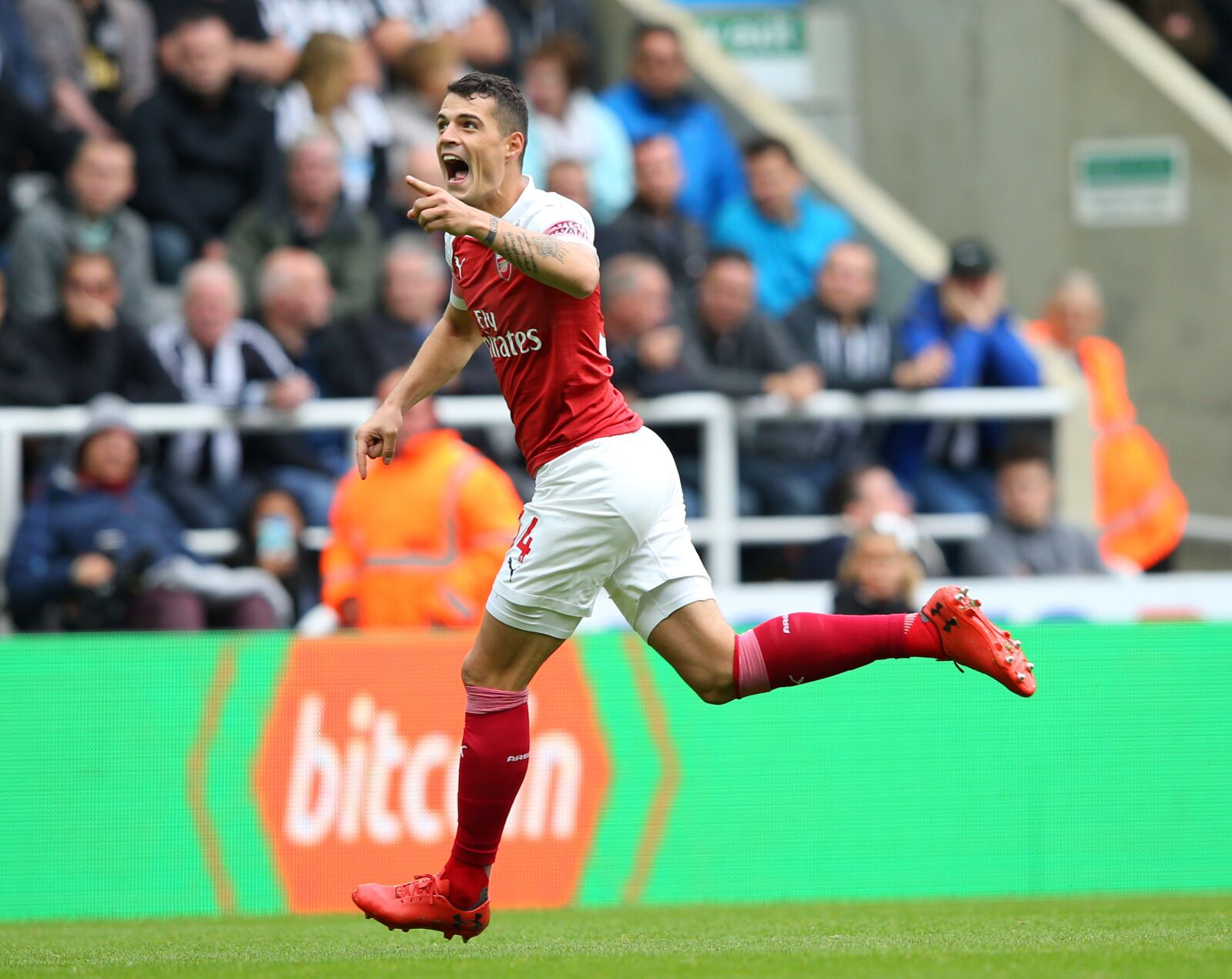 Arsenal Vs Newcastle: Arsenal Vs Newcastle United: Granit Xhaka Tantalises Again