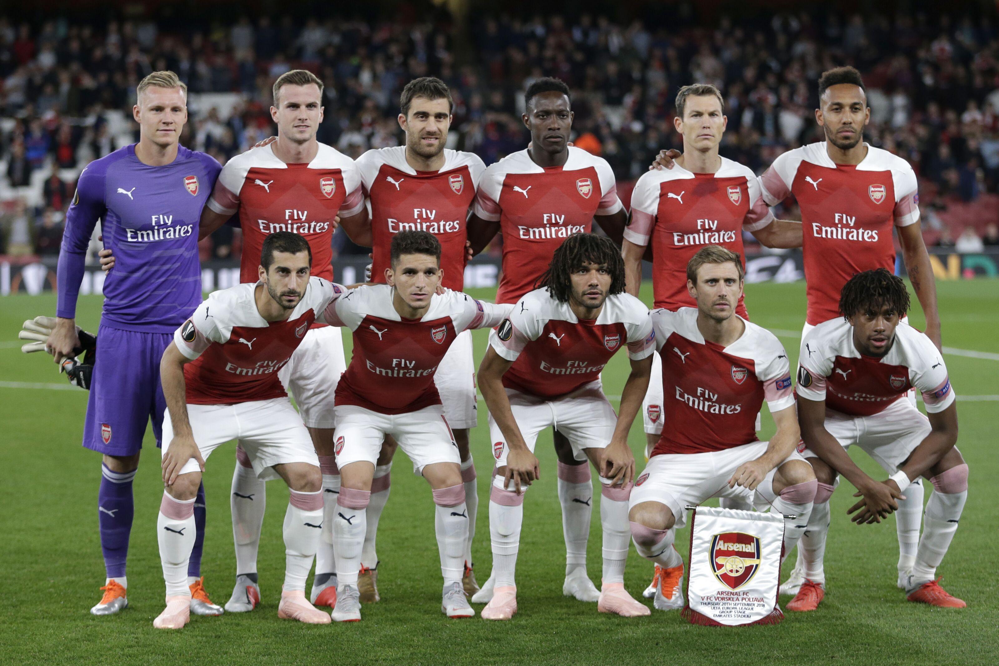 c344ea69f3a4 Arsenal Vs FC Vorskla  Player ratings - Aubameyang hits stride