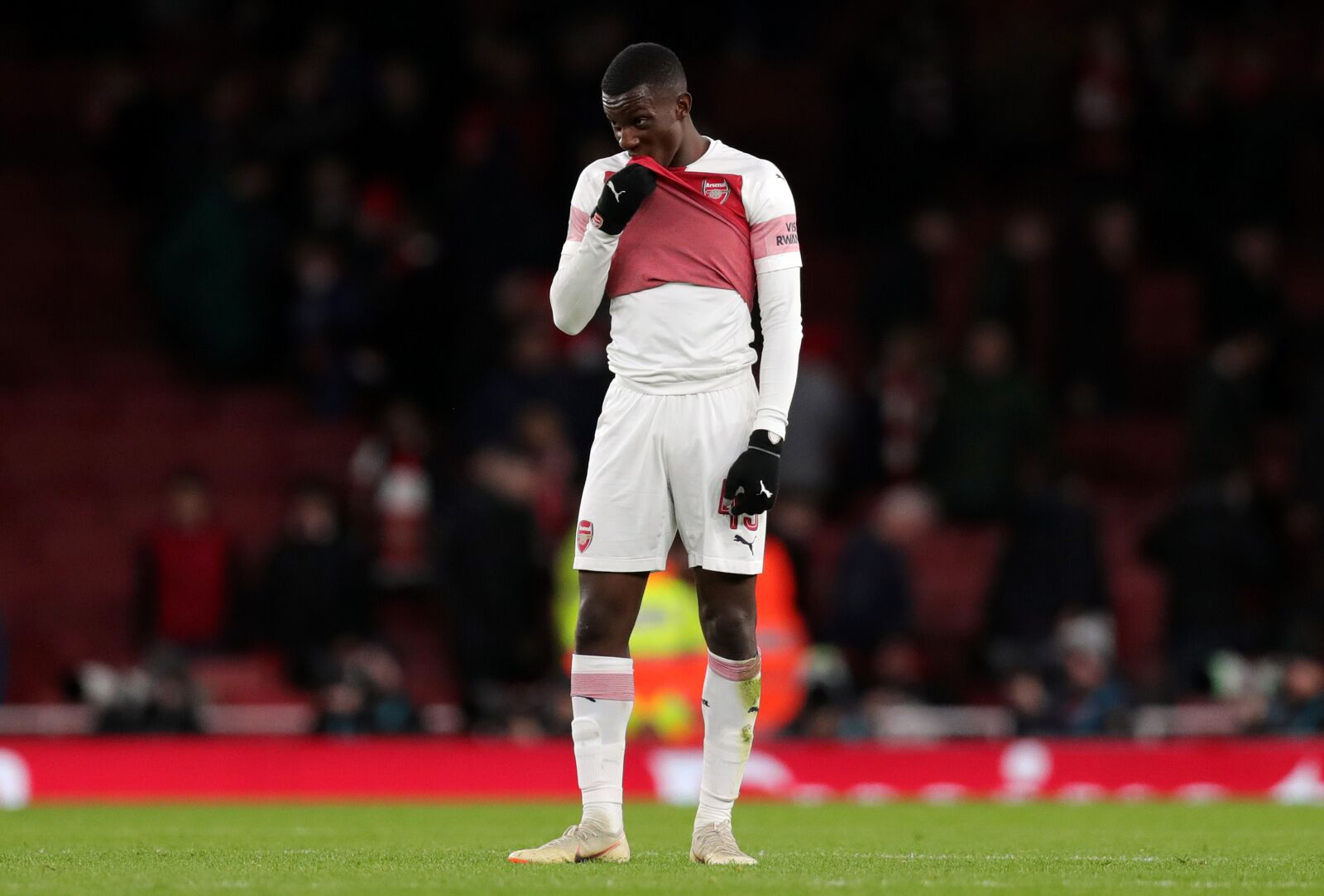 Arsenal: For Eddie Nketiah, wasted time is the biggest enemy