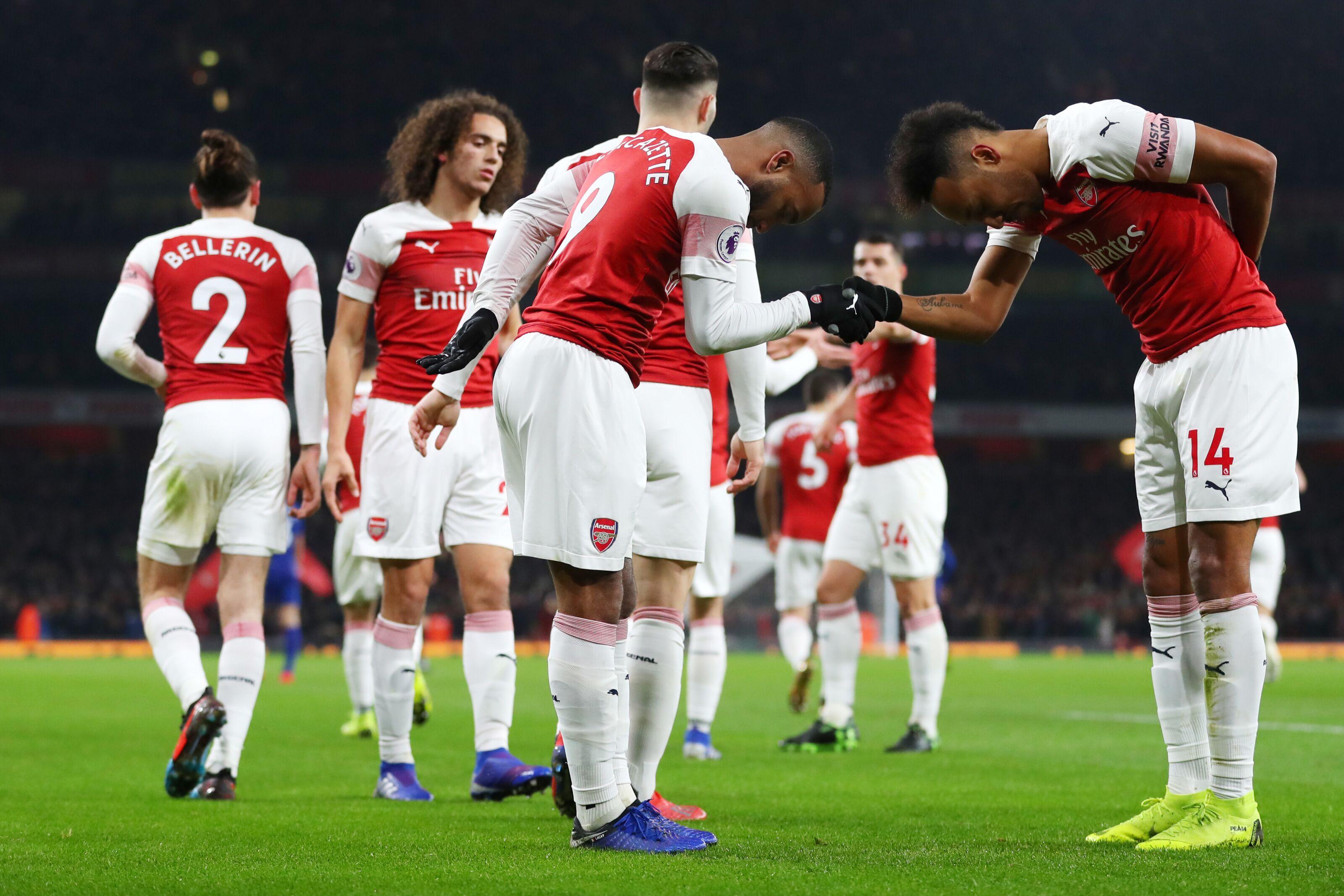 Arsenal: Alexandre Lacazette every bit Aubameyang's equal