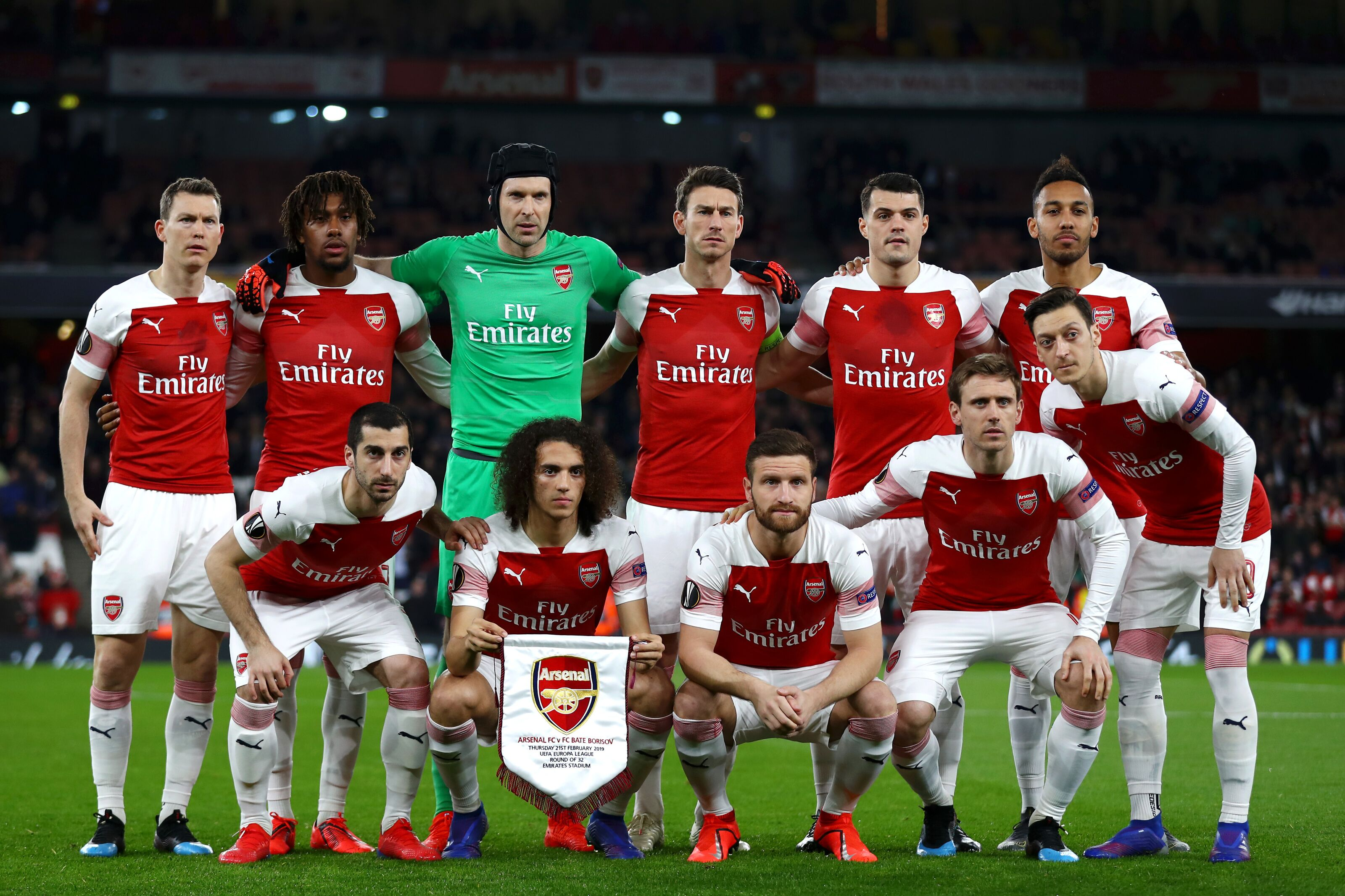 0a25da606 Arsenal Vs BATE Borisov  Player ratings - Job done