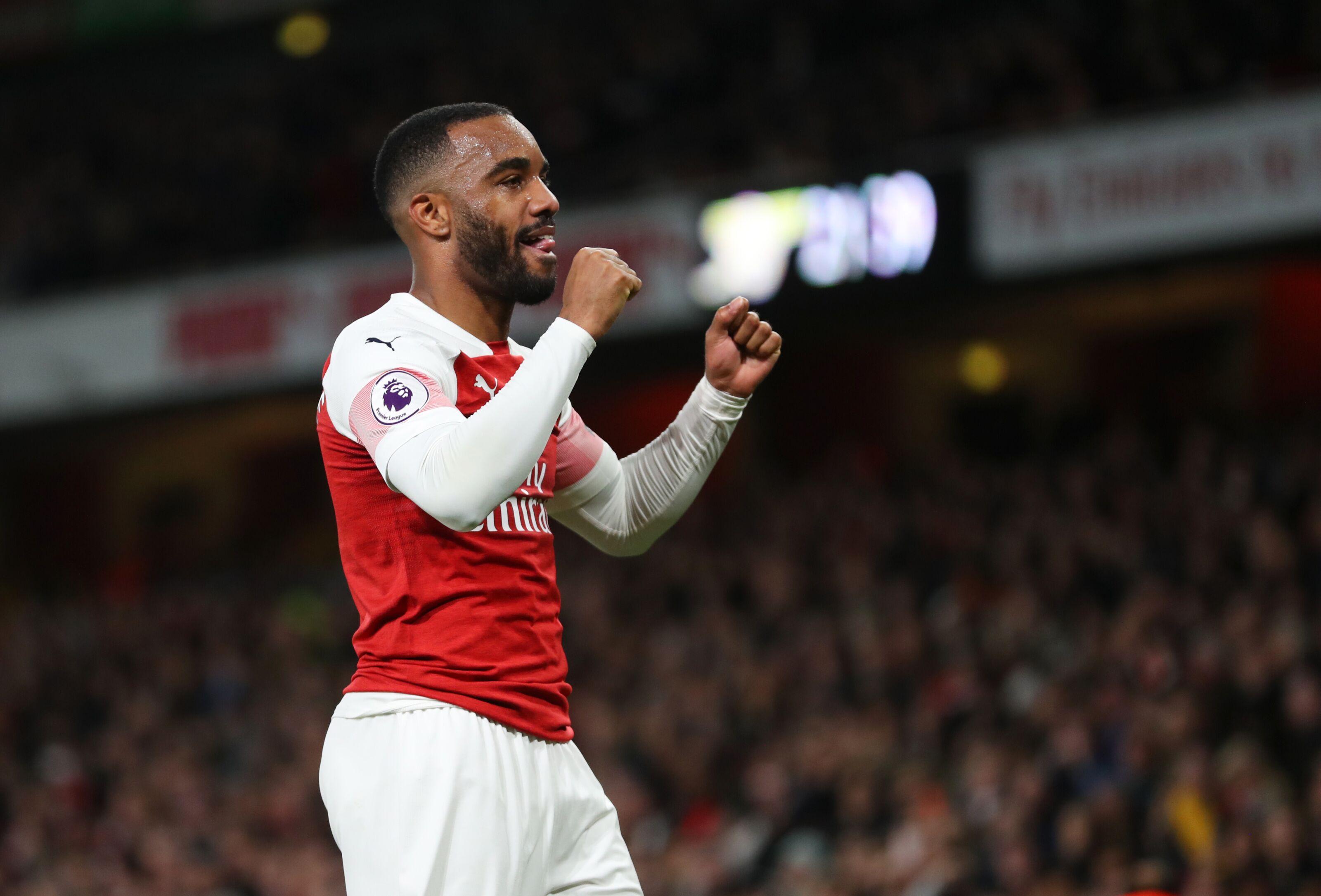 Arsenal: Can Alexandre Lacazette challenge Aubameyang?