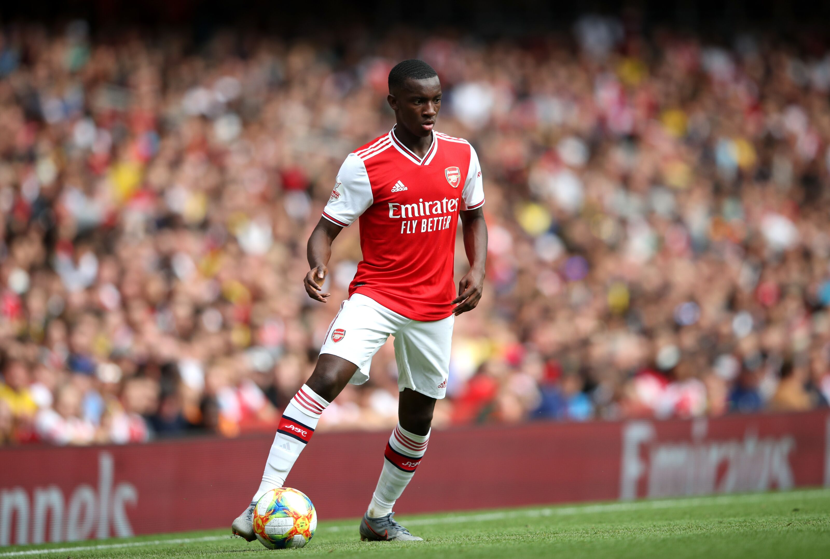 Arsenal: Eddie Nketiah doing the Reiss Nelson… and that's a good thing