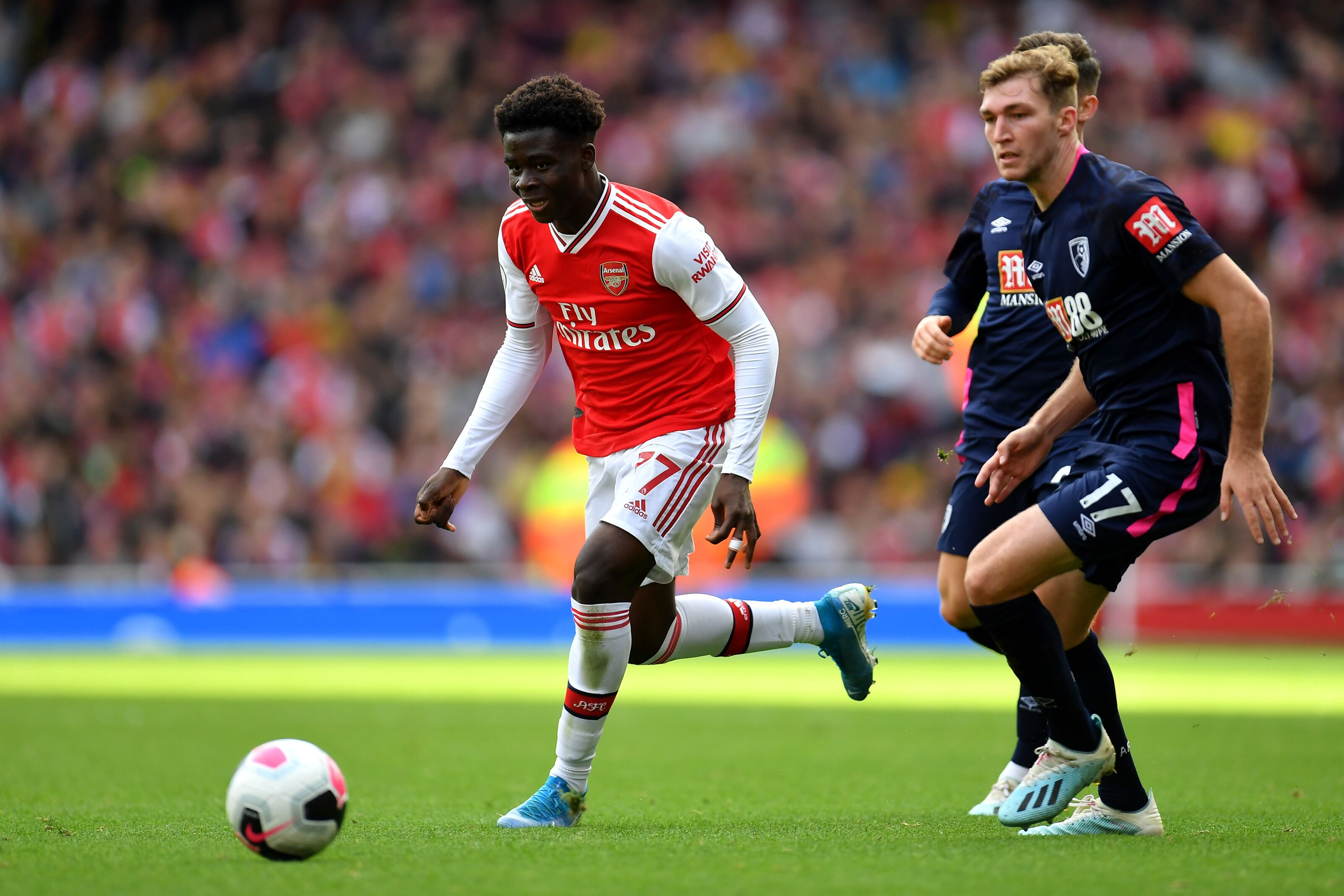 Arsenal: Bukayo Saka primed for Golden Boy 2020