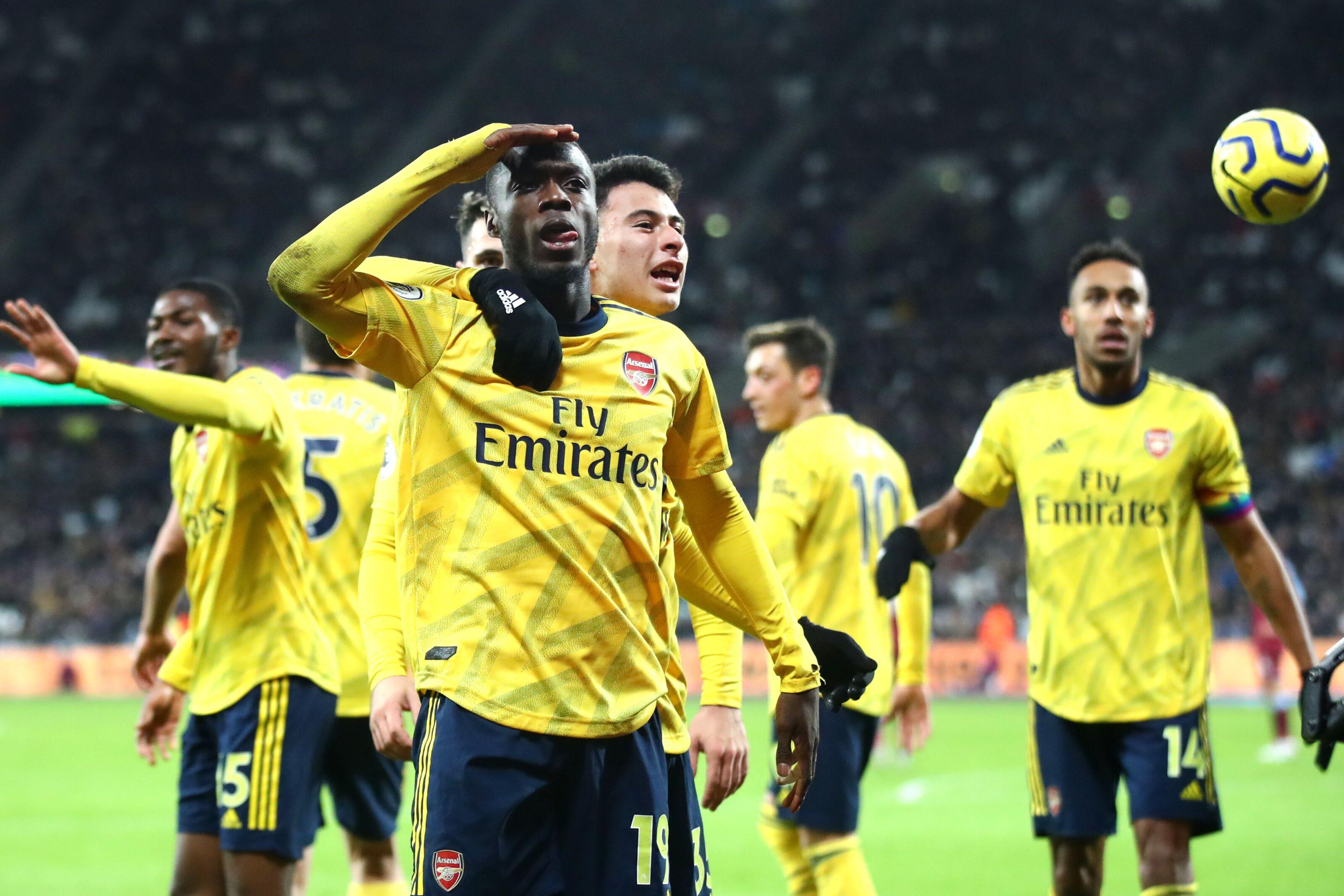 Arsenal: Nicolas Pepe the ideal Mesut Ozil replacement