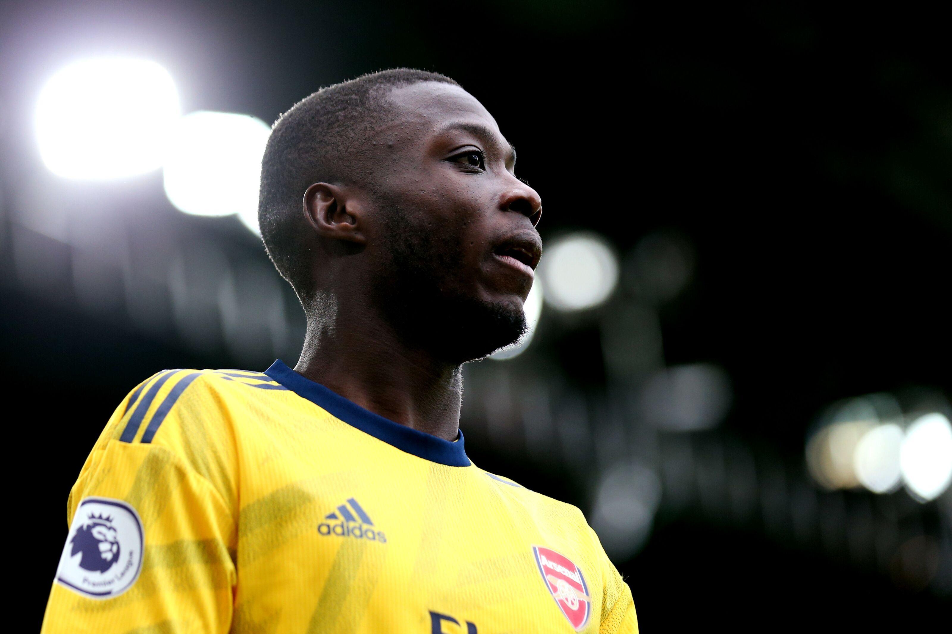 Arsenal: Mikel Arteta lays gauntlet down for Nicolas Pepe