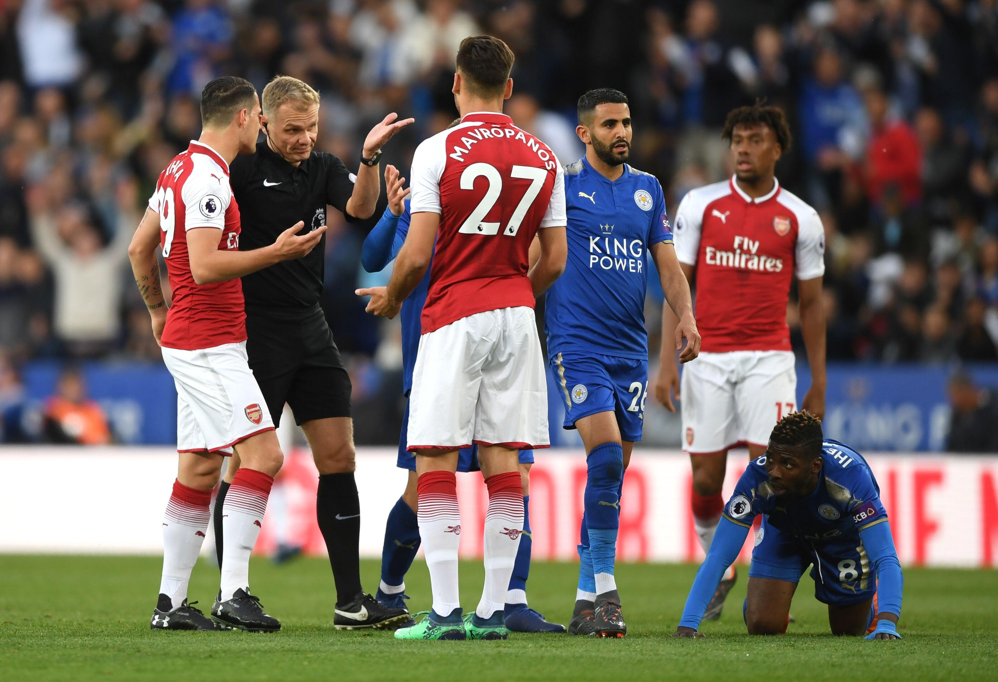 官方:阿森纳因未能控制住球员遭到英足总指控