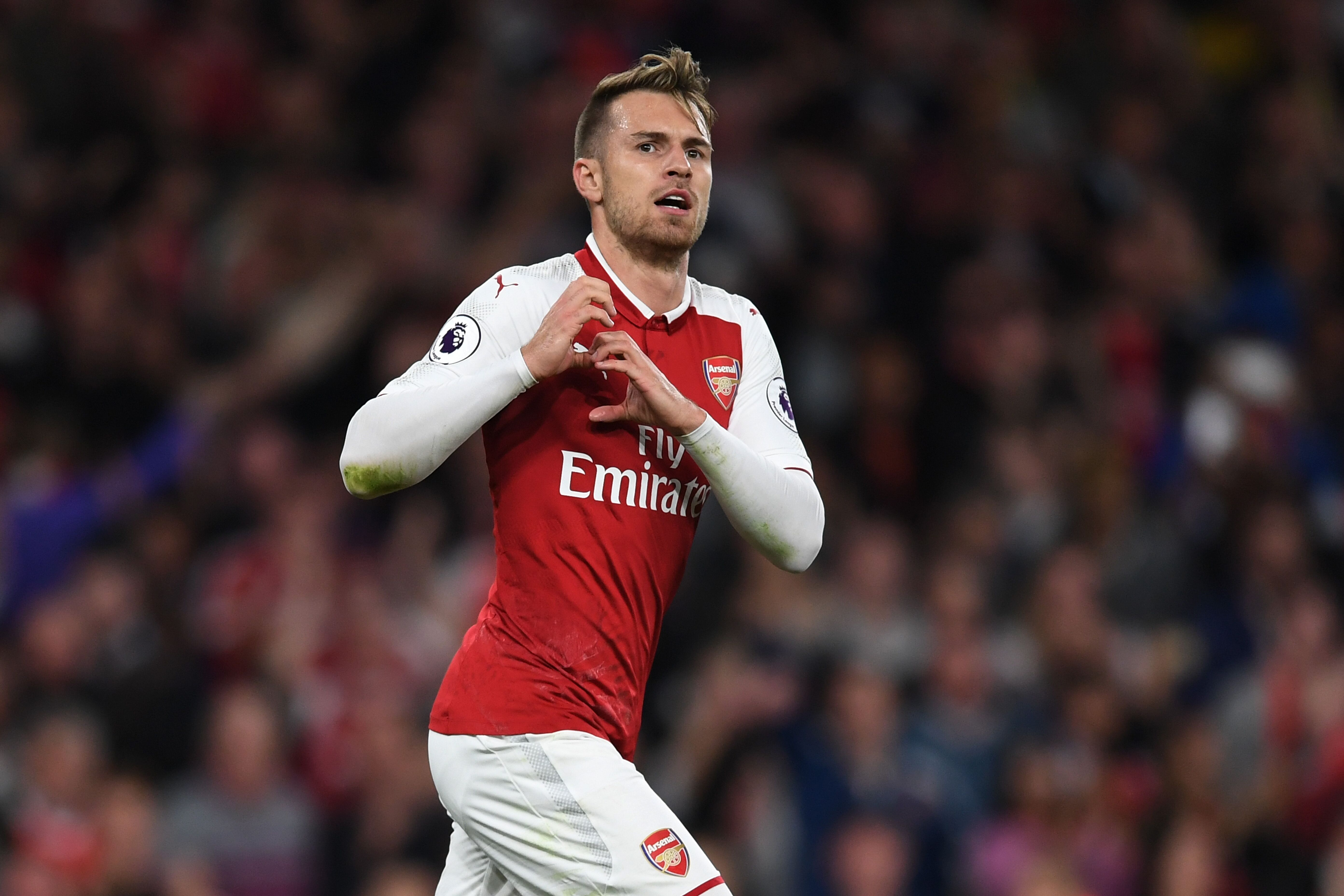 Arsenal Alexis Sanchez Aaron Ramsey like a sibling rivalry