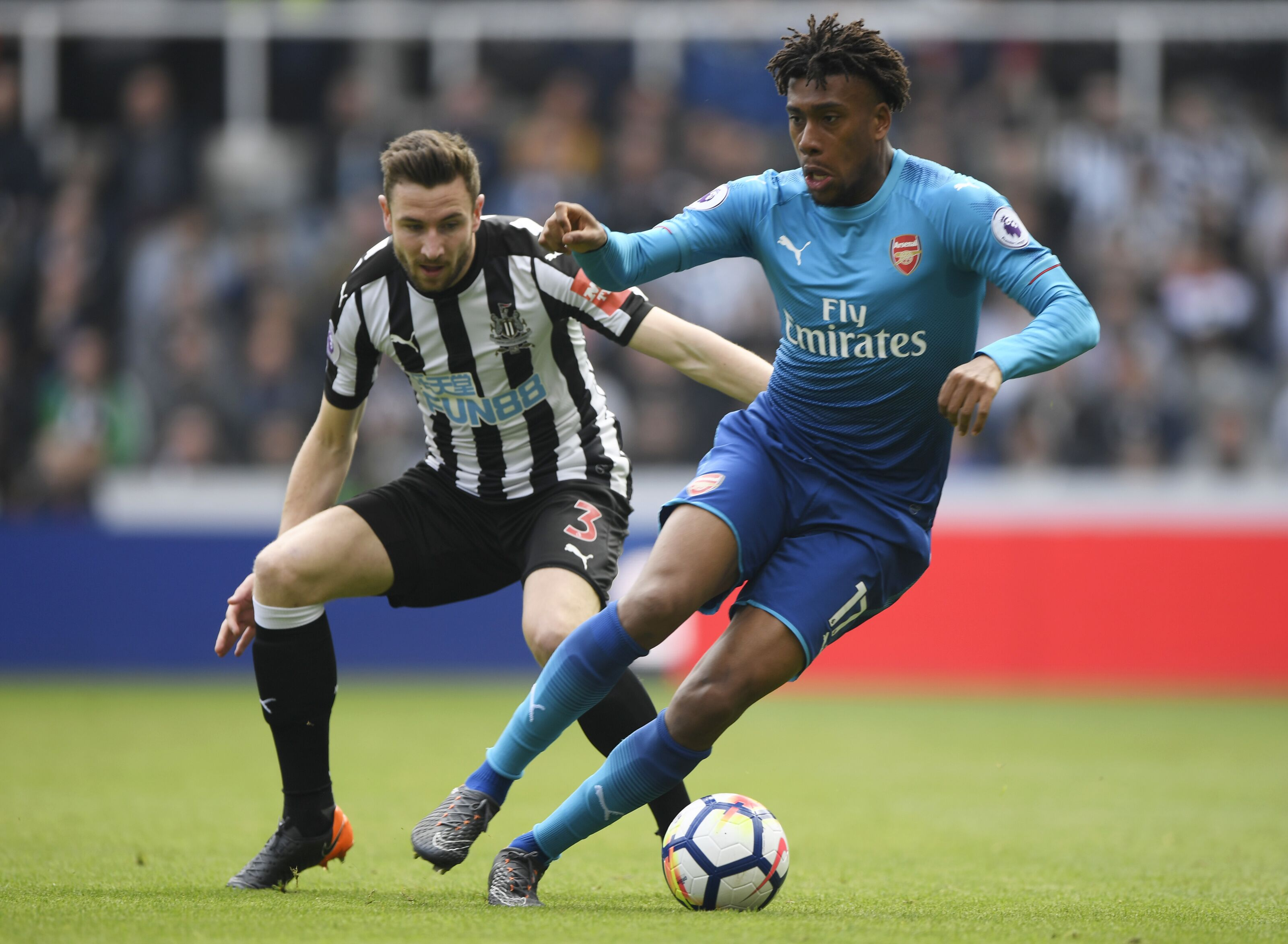 Arsenal Vs Newcastle: Arsenal Vs Newcastle United: At Least Alex Iwobi Showed