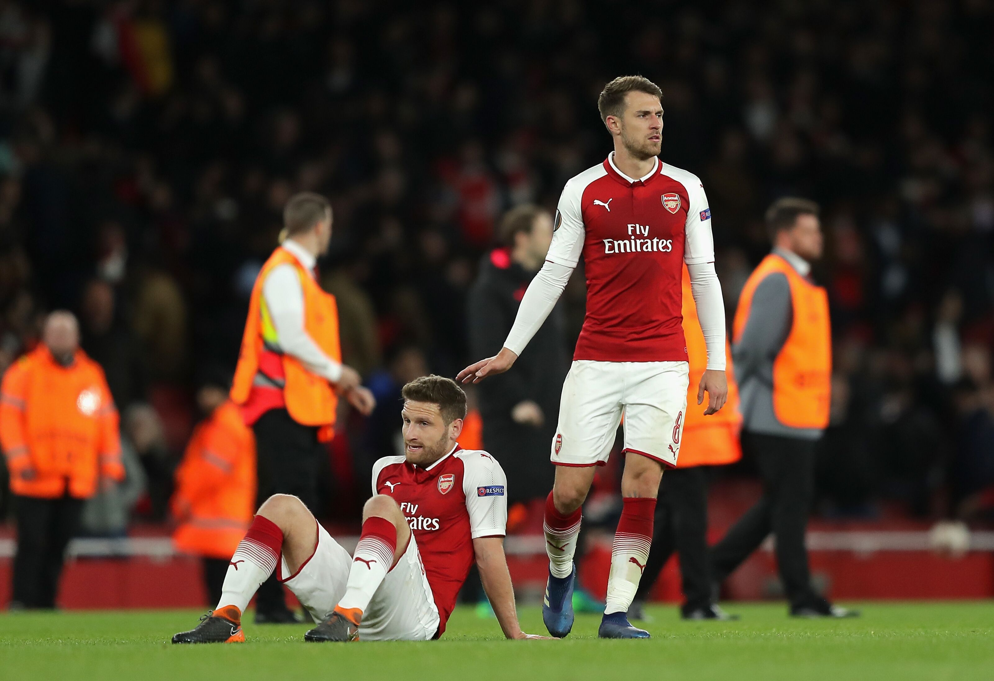 Arsenal Seemed To Have The Advantage Throughout But Lo And Behold They Never Did At All Here Are The Player Ratings From The First Leg