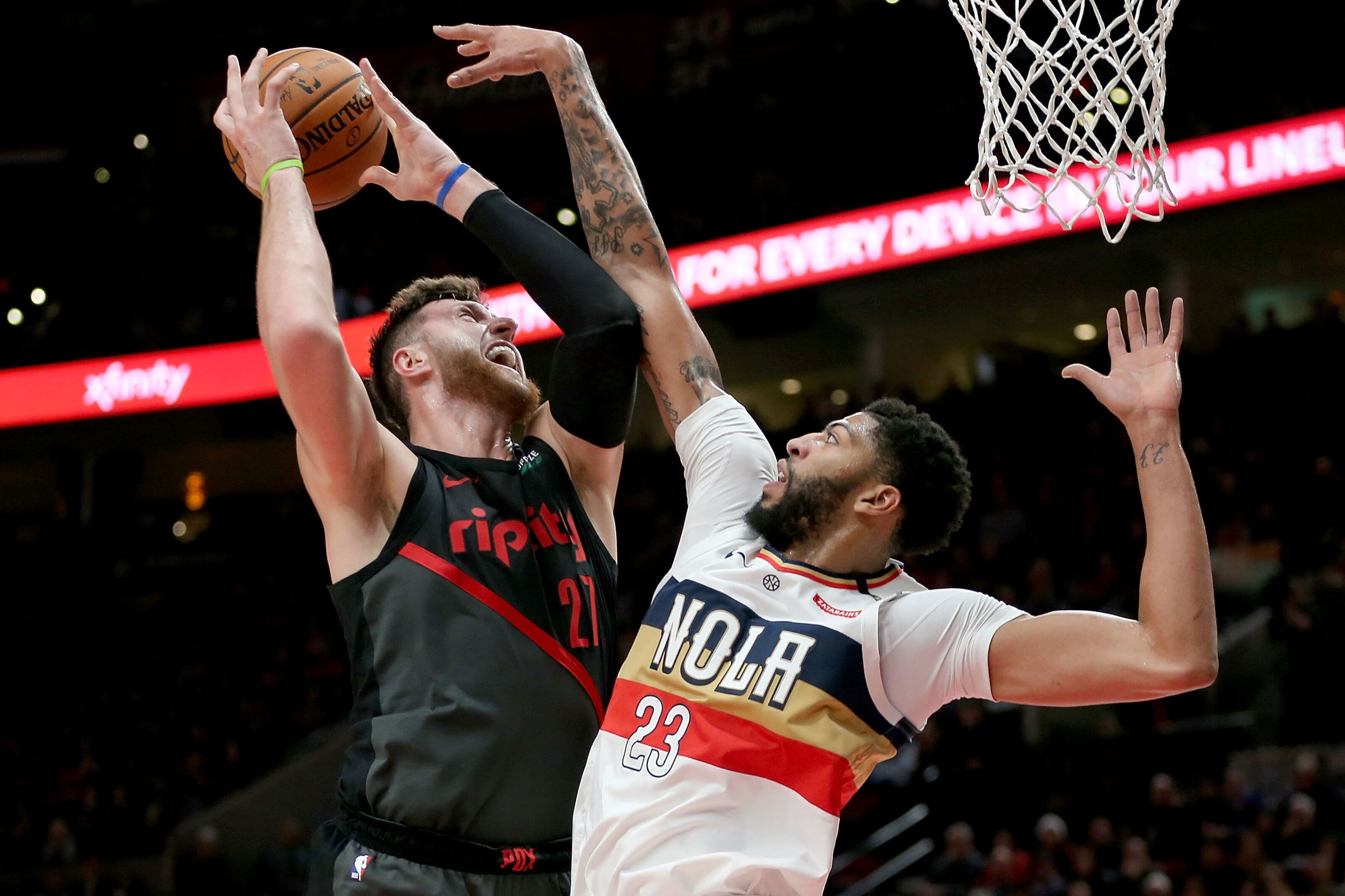 Trailblazers' potential in a three team Anthony Davis trade with Pelicans