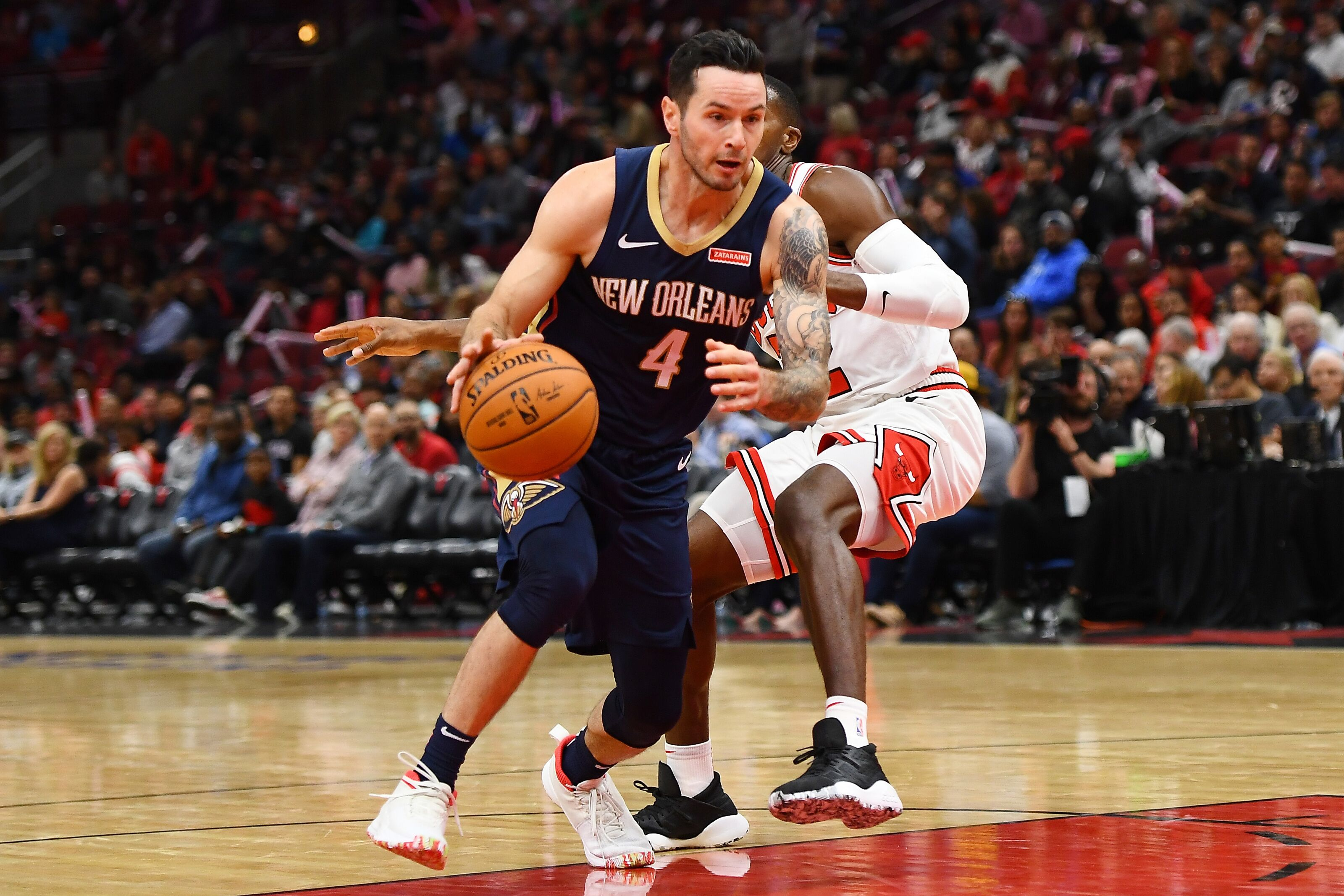 New Orleans Pelicans: Can Pels find offensive mesh with J.J. Redick?