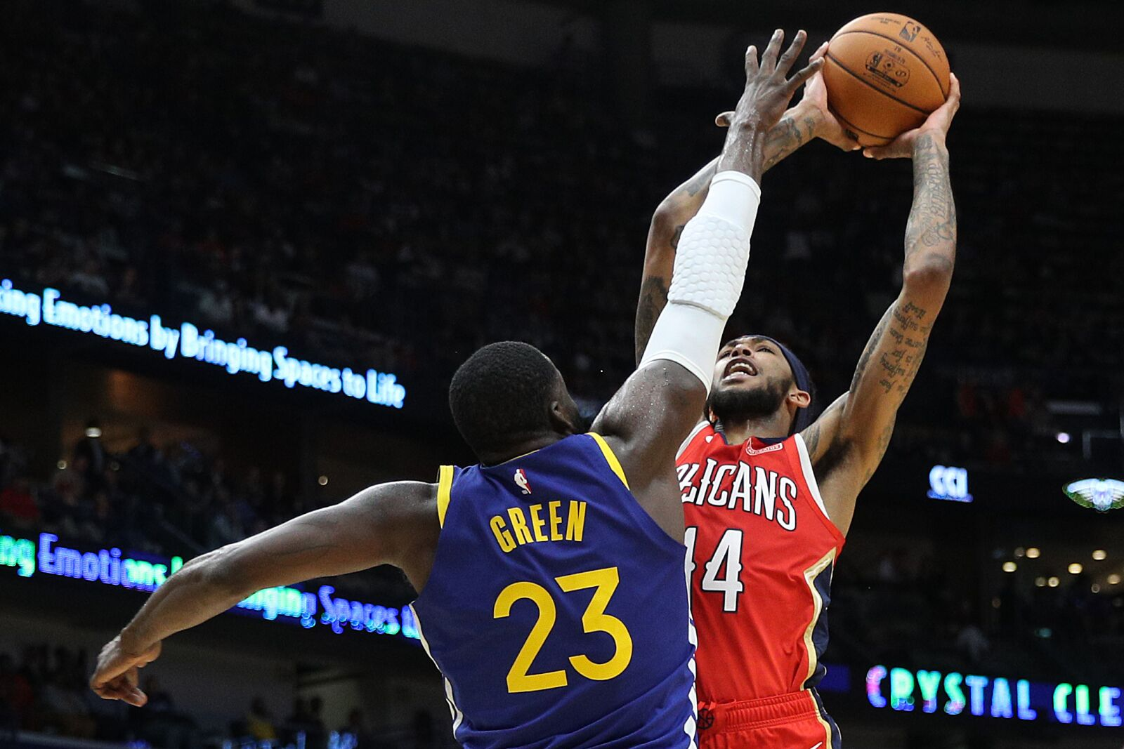 New Orleans Pelicans play host to beat-up Golden State Warriors