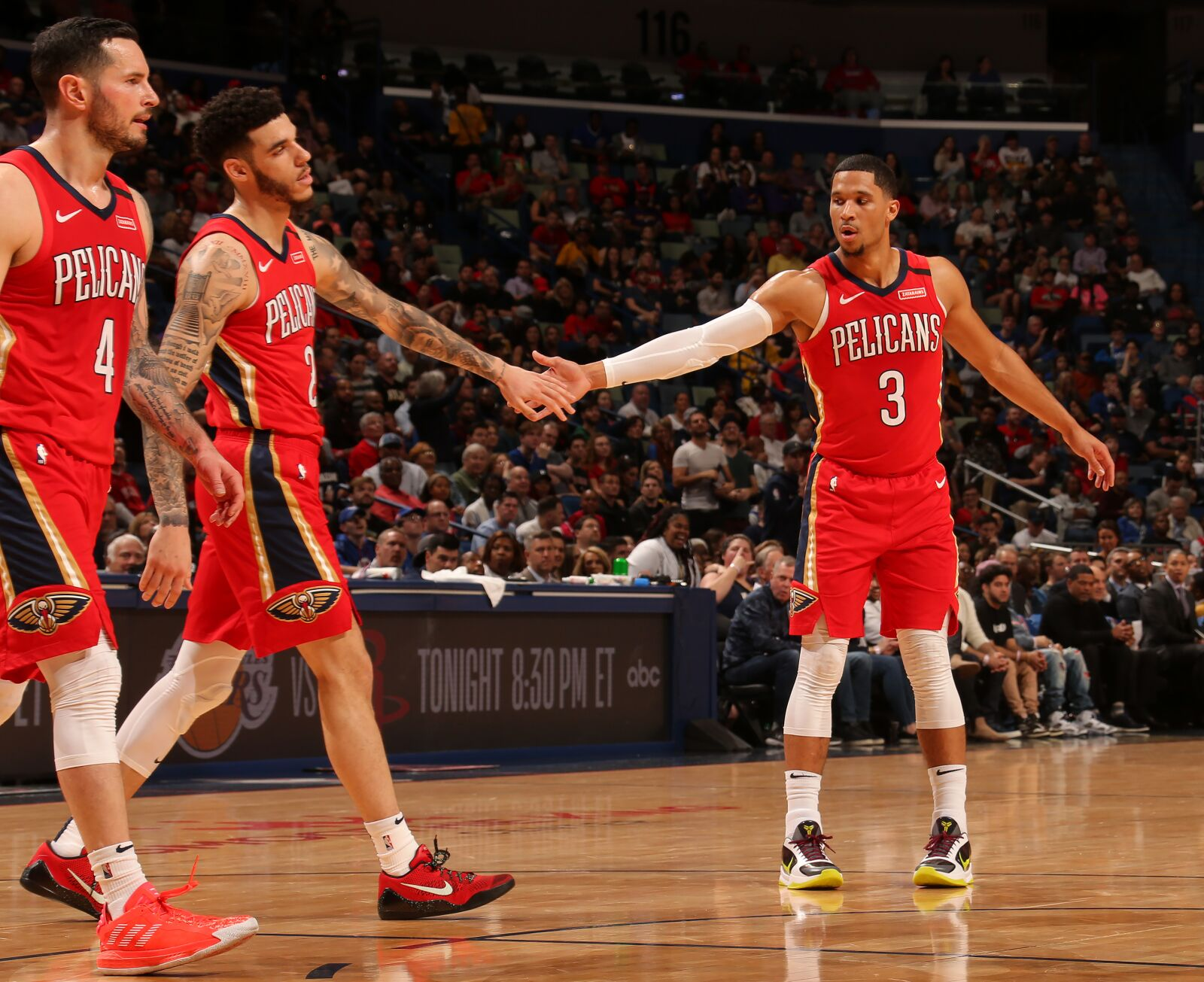 New Orleans Pelicans narrow loss to Clippers shows playoff poise