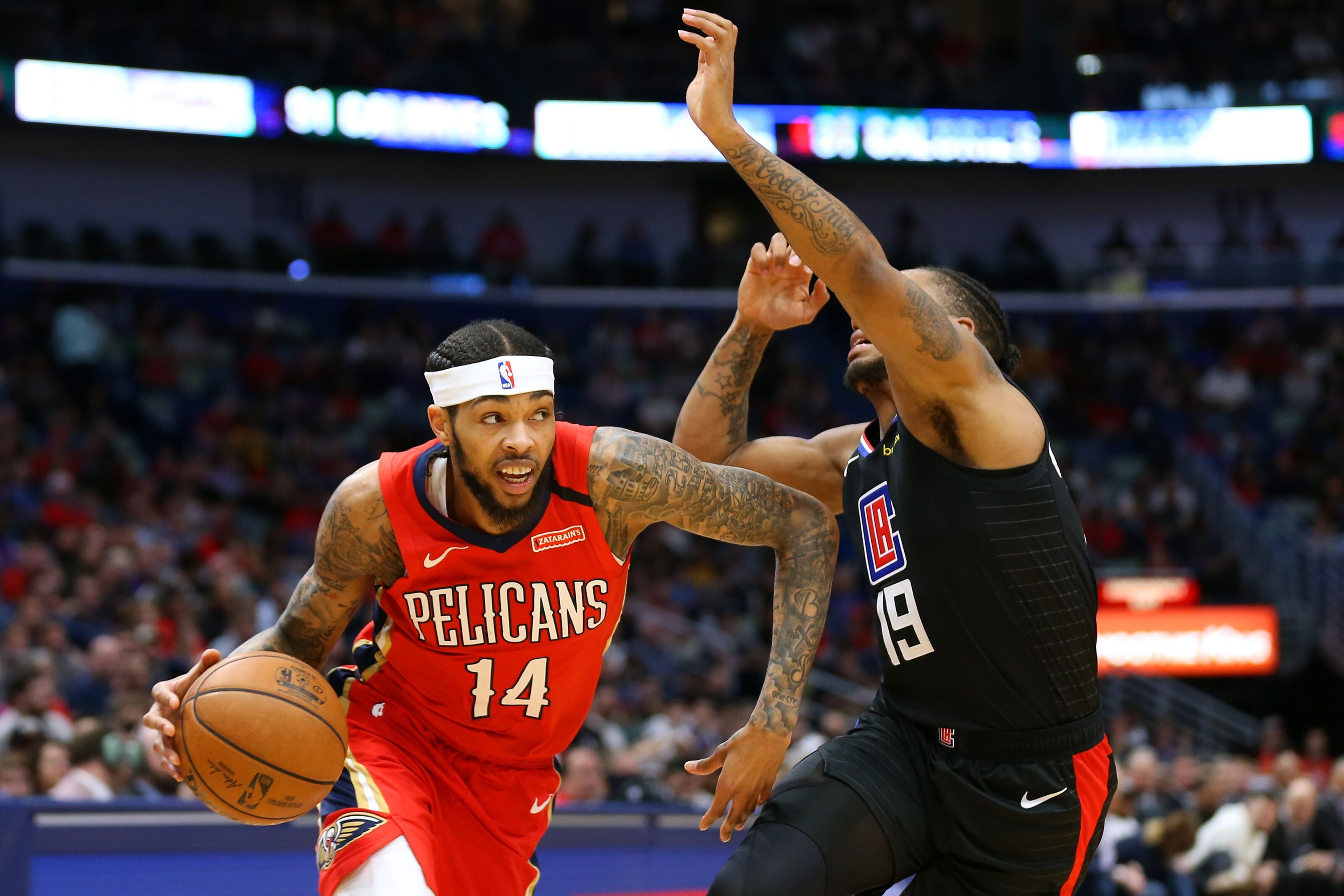 The New Orleans Pelicans have their wings and they're about to fly
