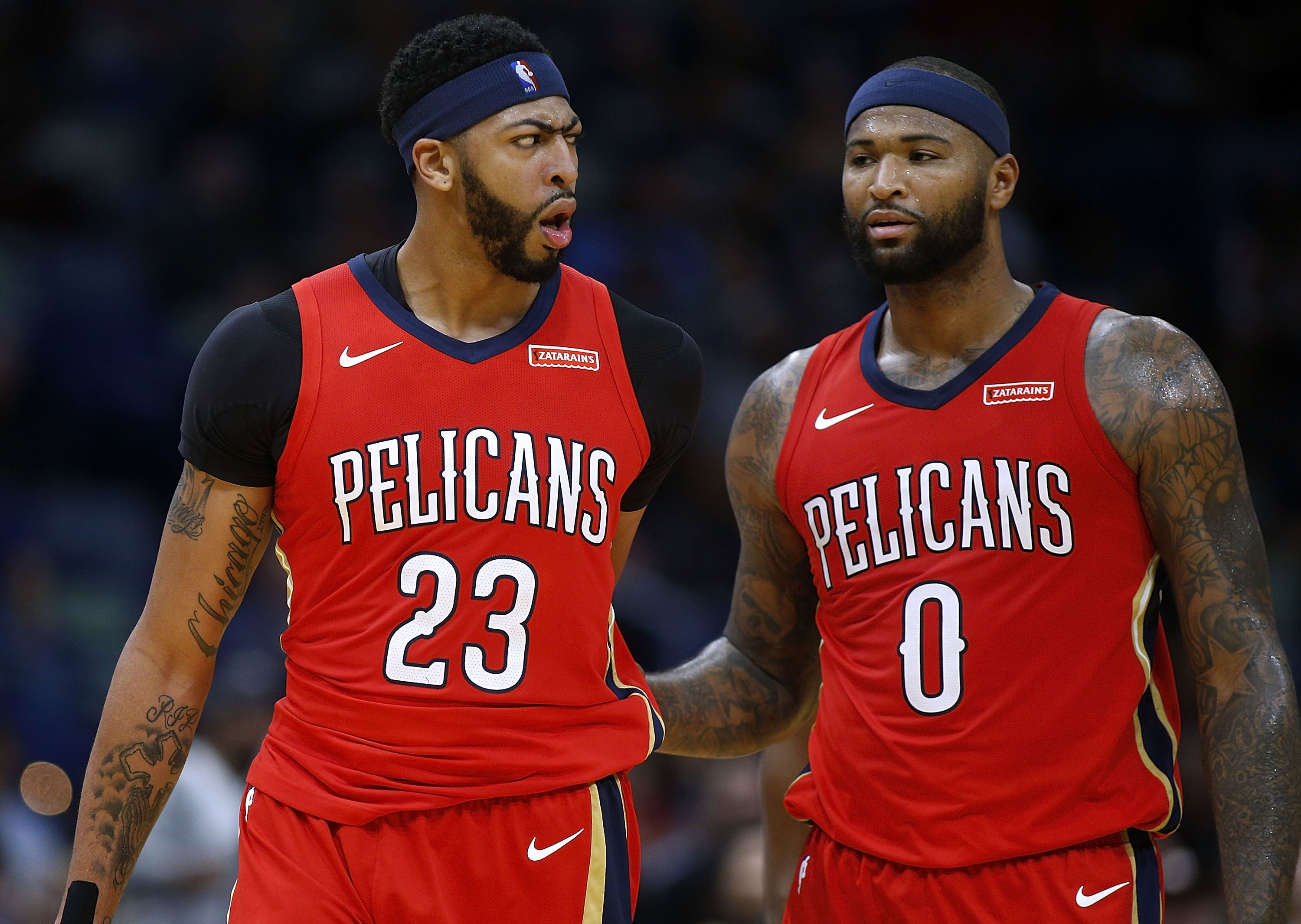 f5e51bd2 Anthony Davis fined $25K following first career ejection