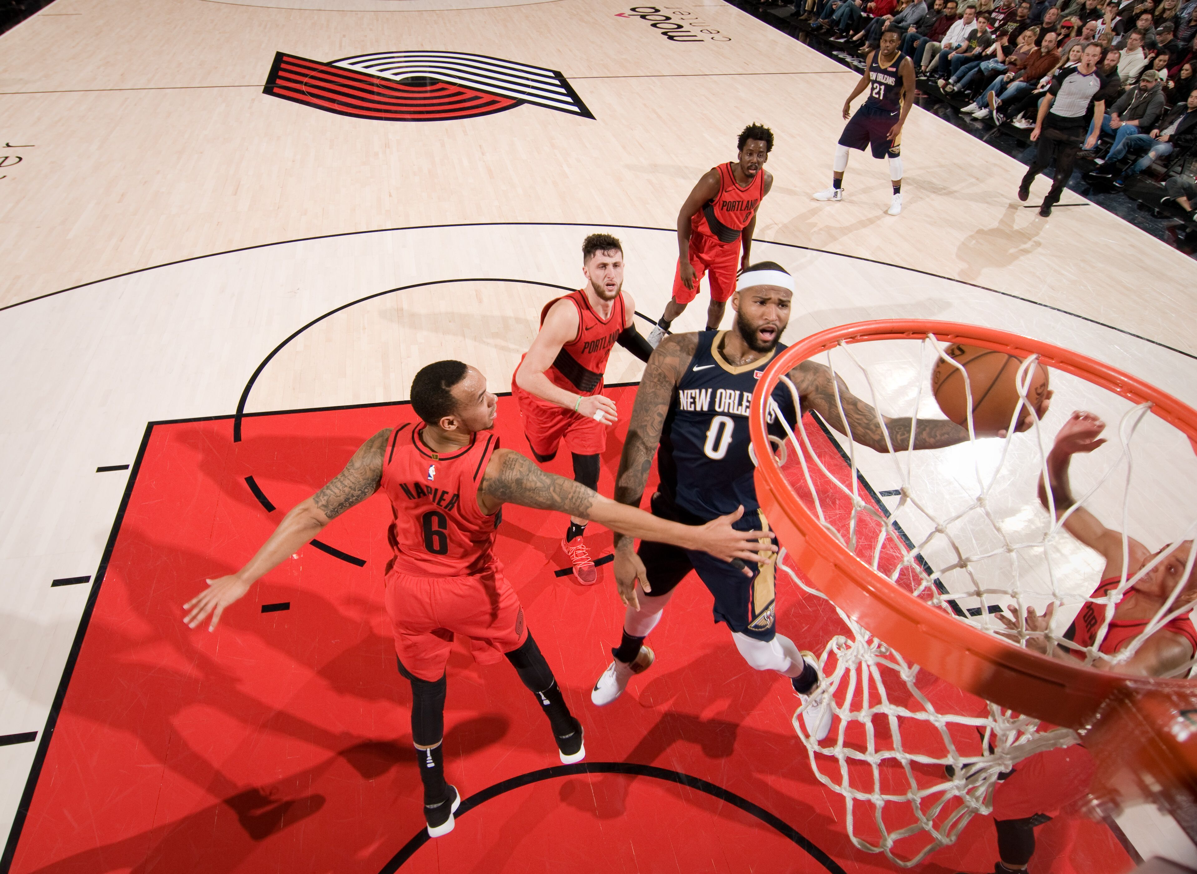 Pelicans Vs Trail Blazers Detail: Pelicans Big Three Dominate, Beat Blazers 119-113