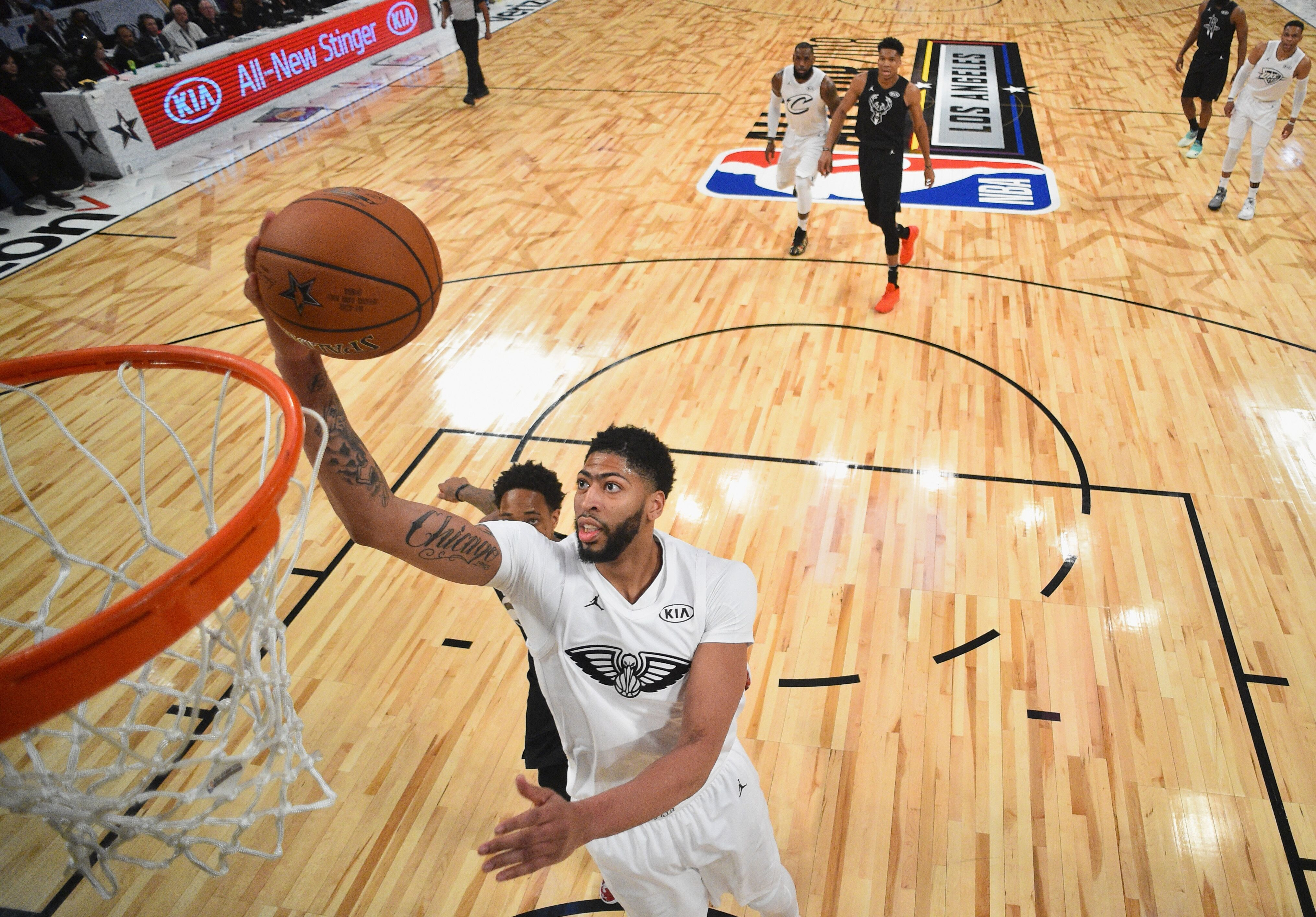 1472c6cfc New Orleans Pelicans well represented at the NBA All-Star game