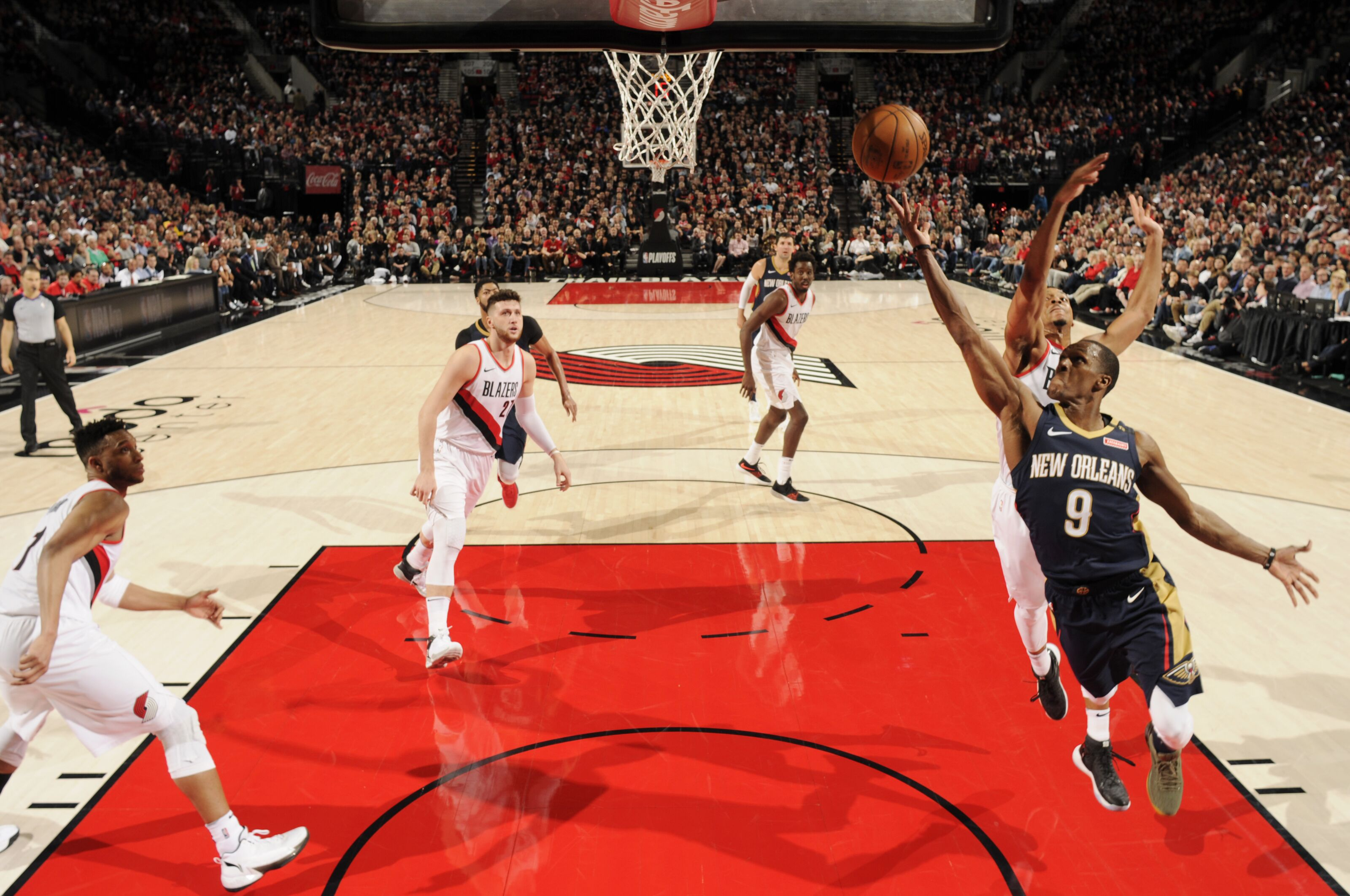 The Breakdown The Thing About The Pelicans Blazers Game One