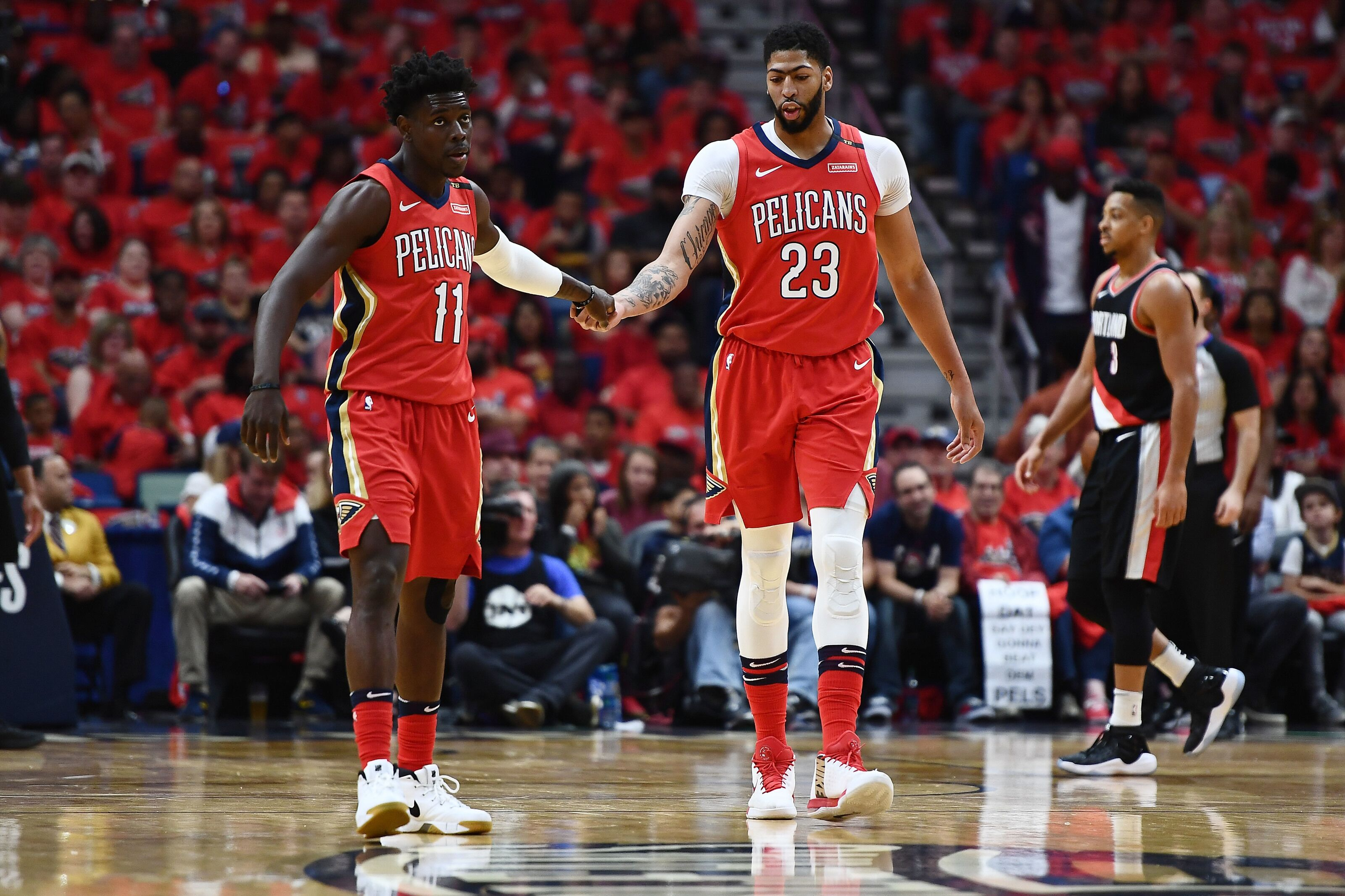 4/4/4 4 Positives Negatives And Oddities From Pelicans Blazers Series