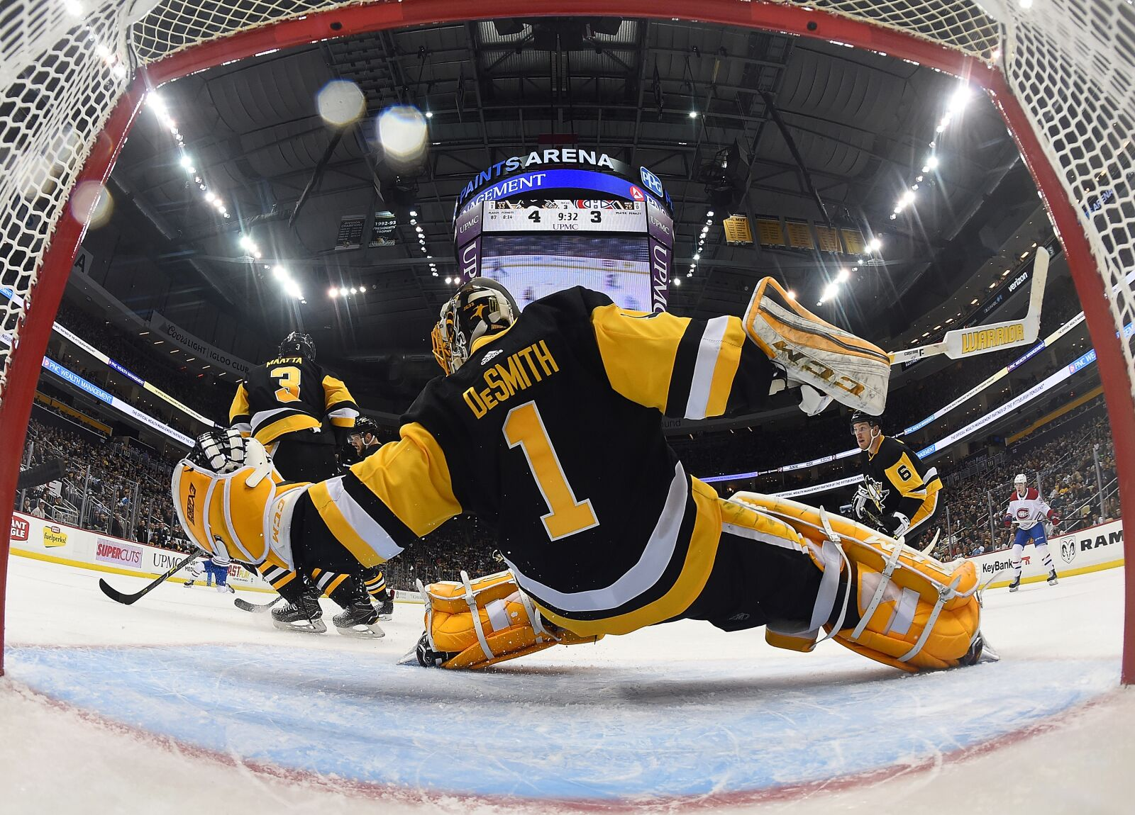 Pittsburgh Penguins Are In Tight Race