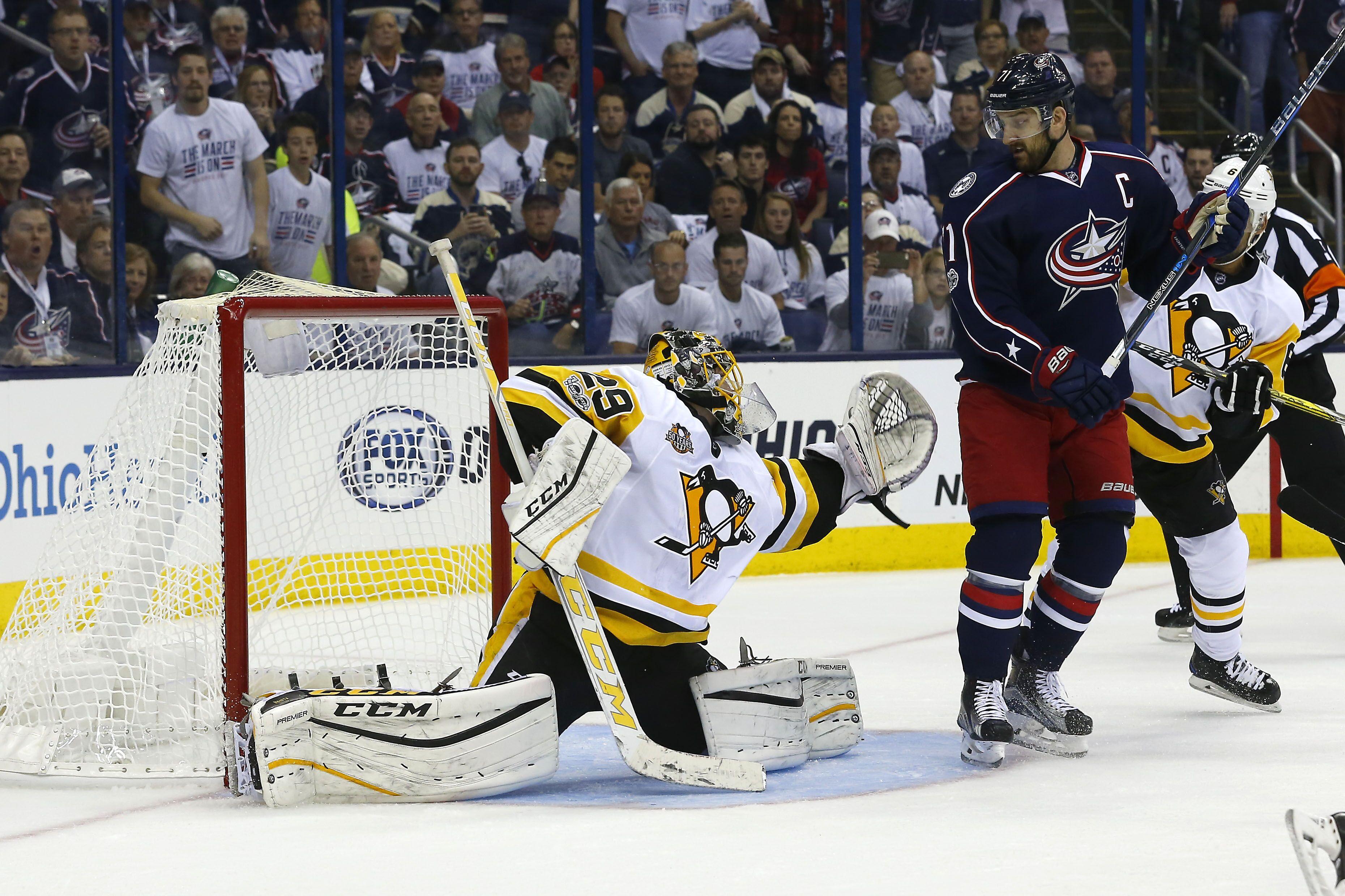 NHL Playoffs 2017, Pittsburgh Penguins Vs. Columbus Blue Jackets ...