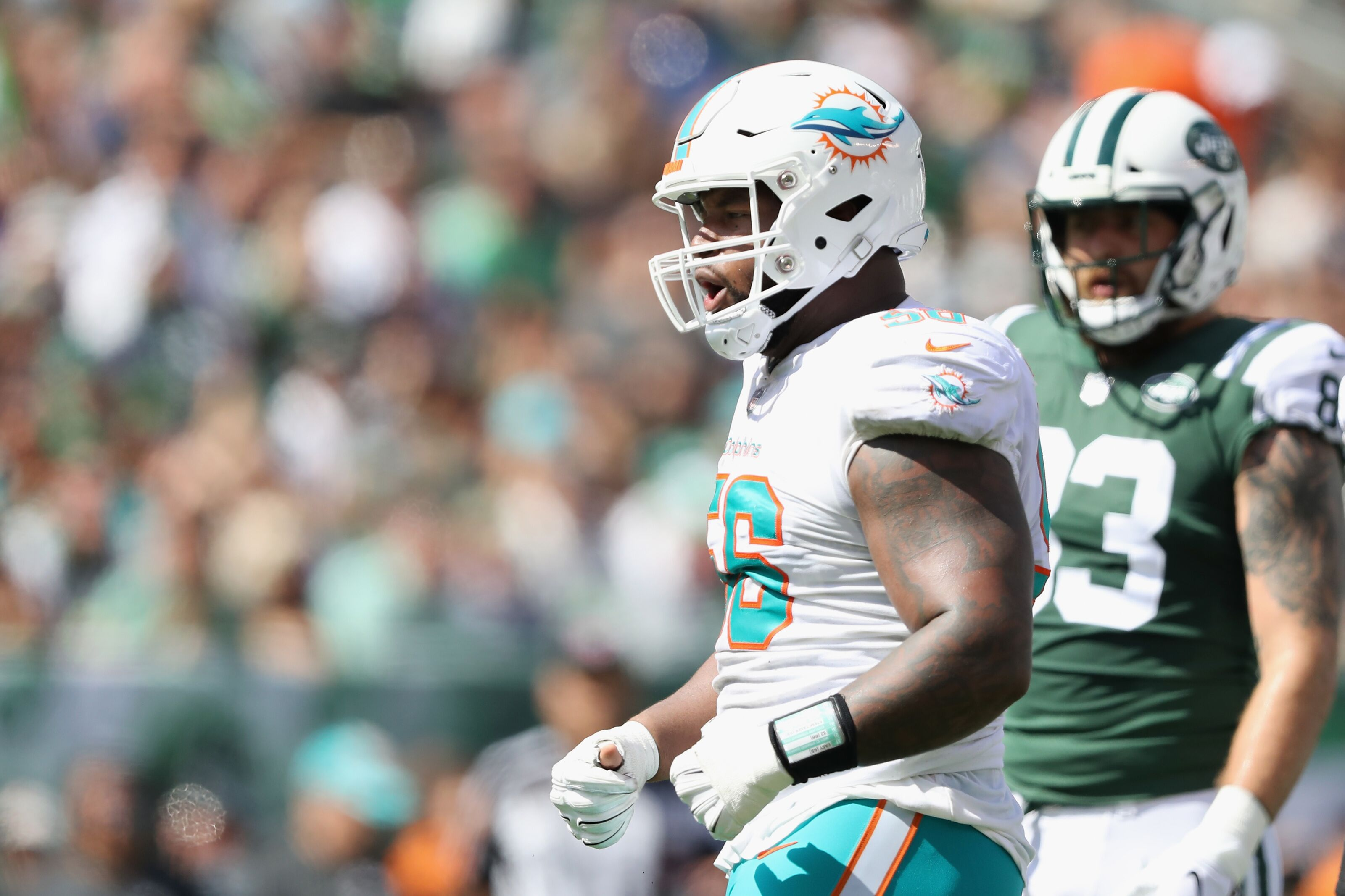 Miami Dolphins defensive line status after free agency