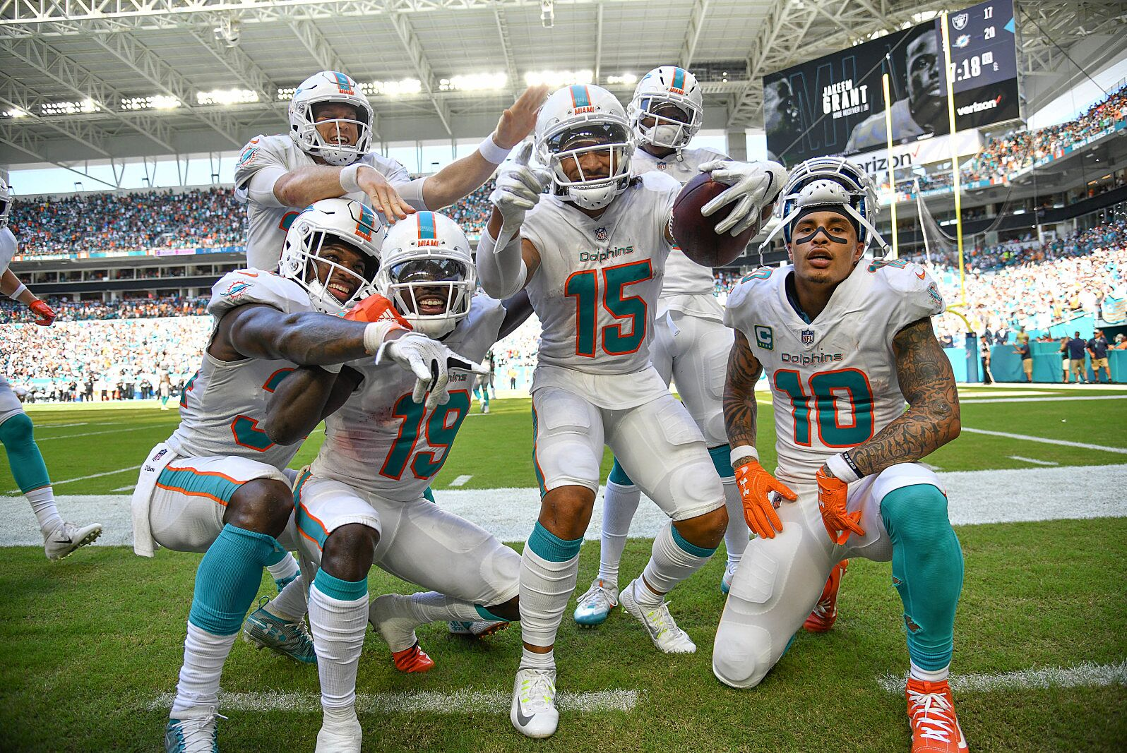 5542e810 Miami Dolphins MLB team all-stars, if of course the Dolphins were ...
